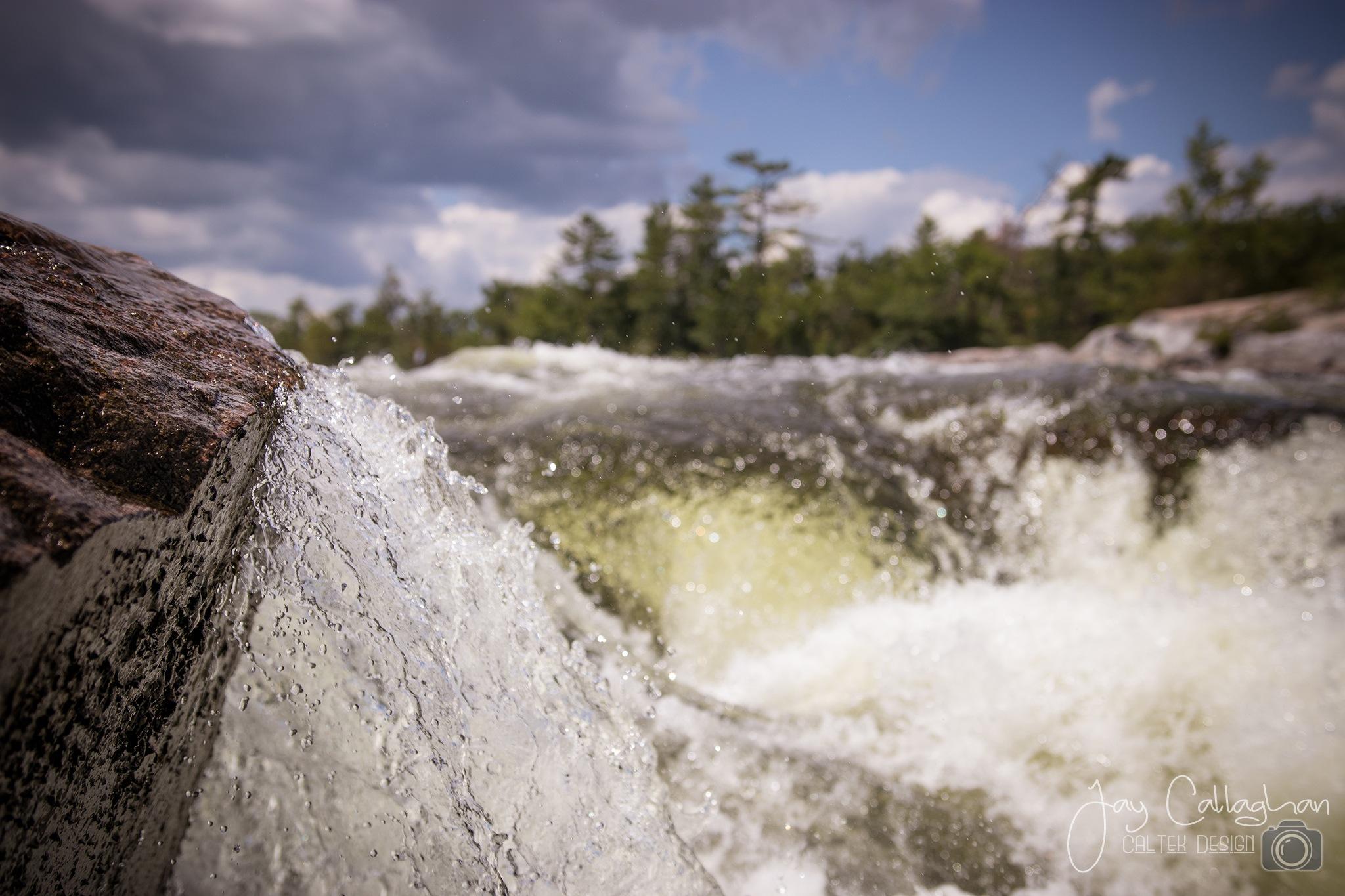 Burleigh Falls by Jay Callaghan