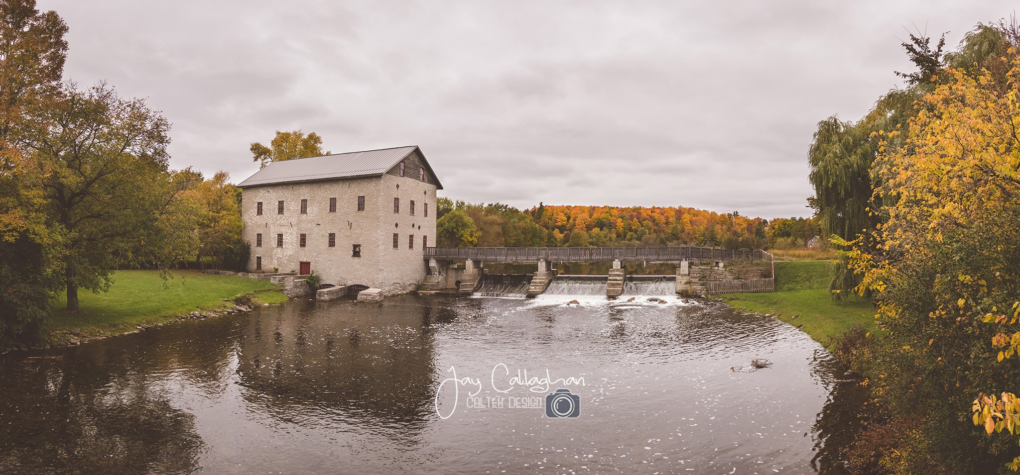 Autumn at the Mill by Jay Callaghan