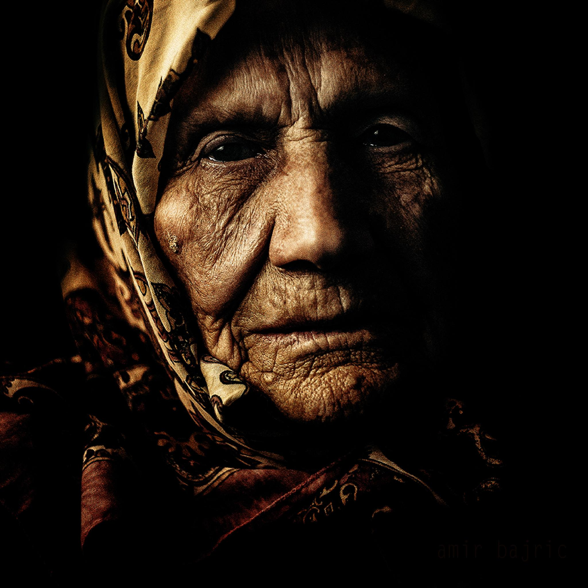 grandmother by Amir Bajrich