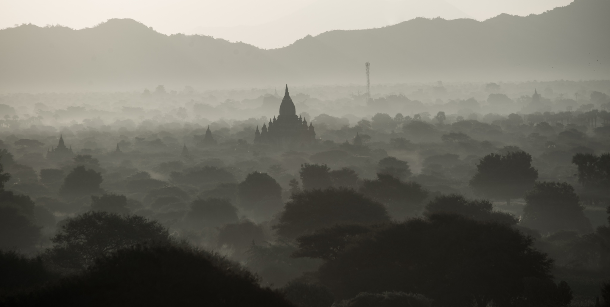 The Plains of Bagan by davemet