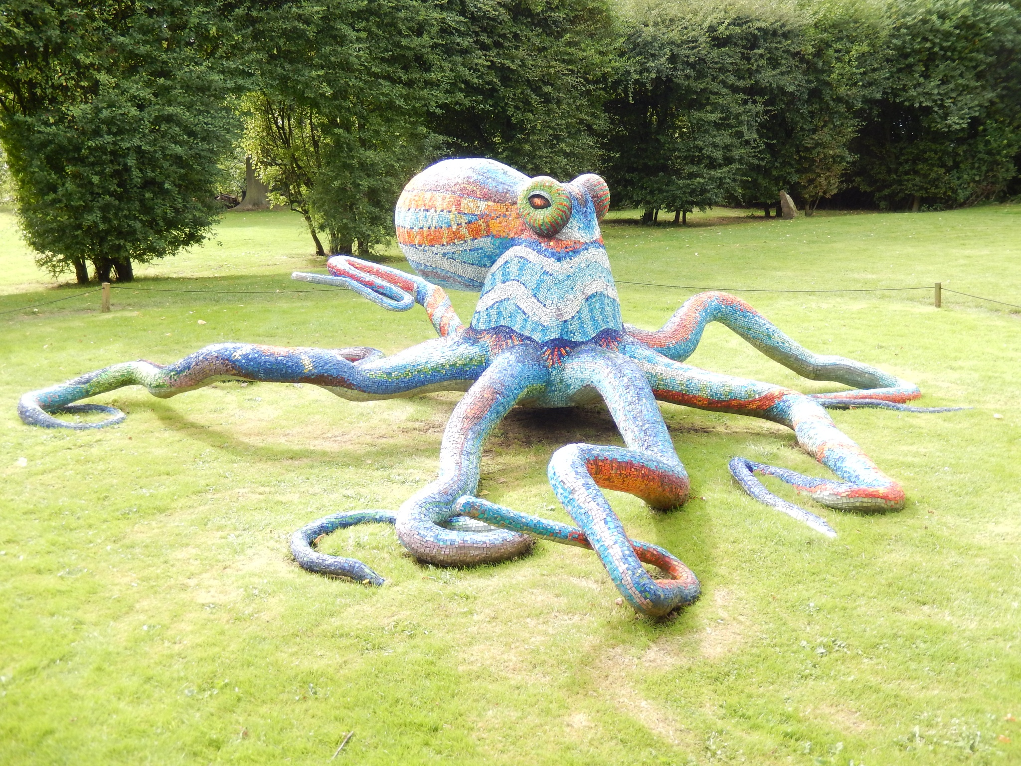 Sparkly Octopus  by CathrynJ