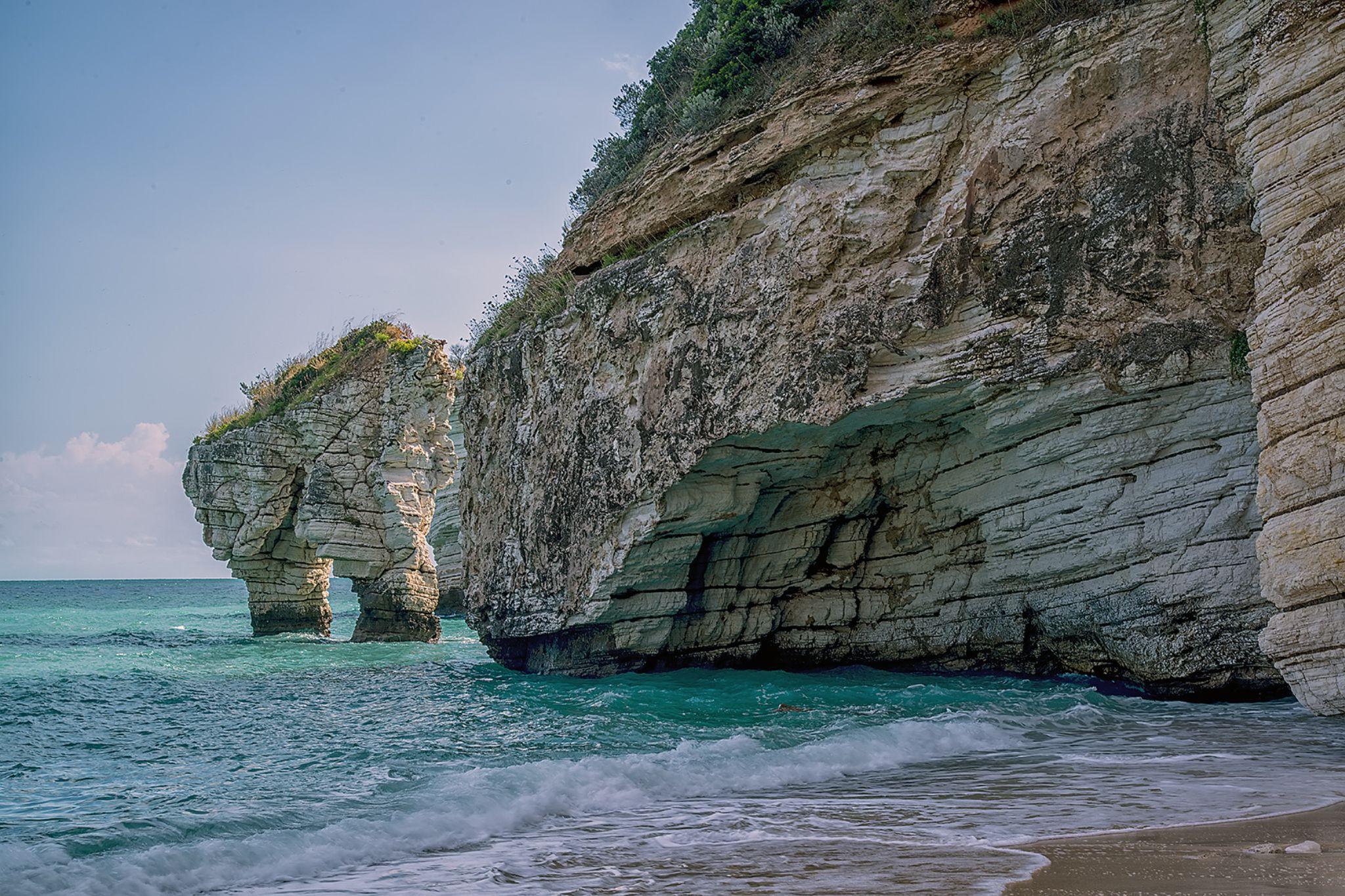 Baia delle Zagare by Michele Vitulano