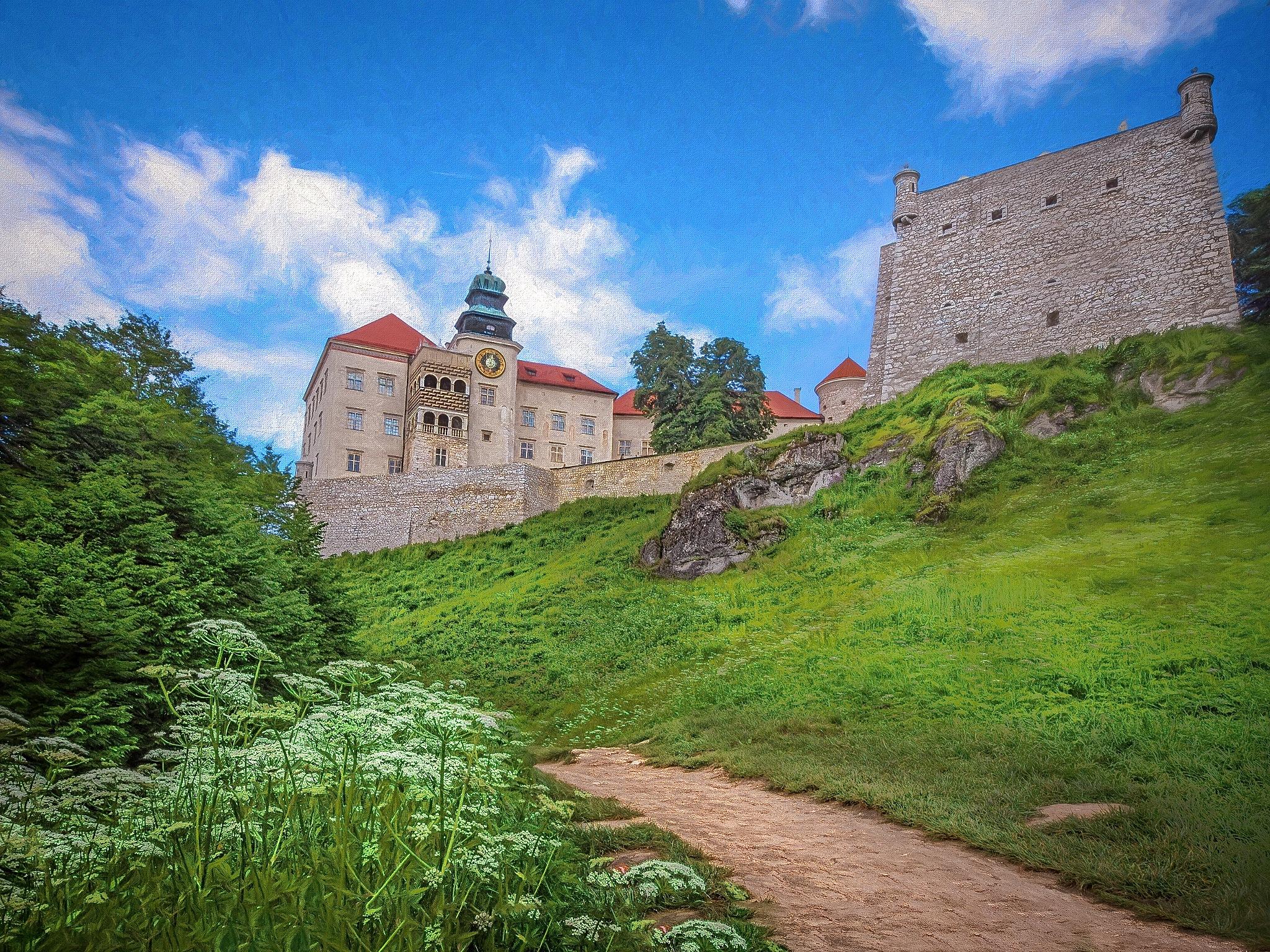 Pieskowa Skała-Castle by Kevin Hancey