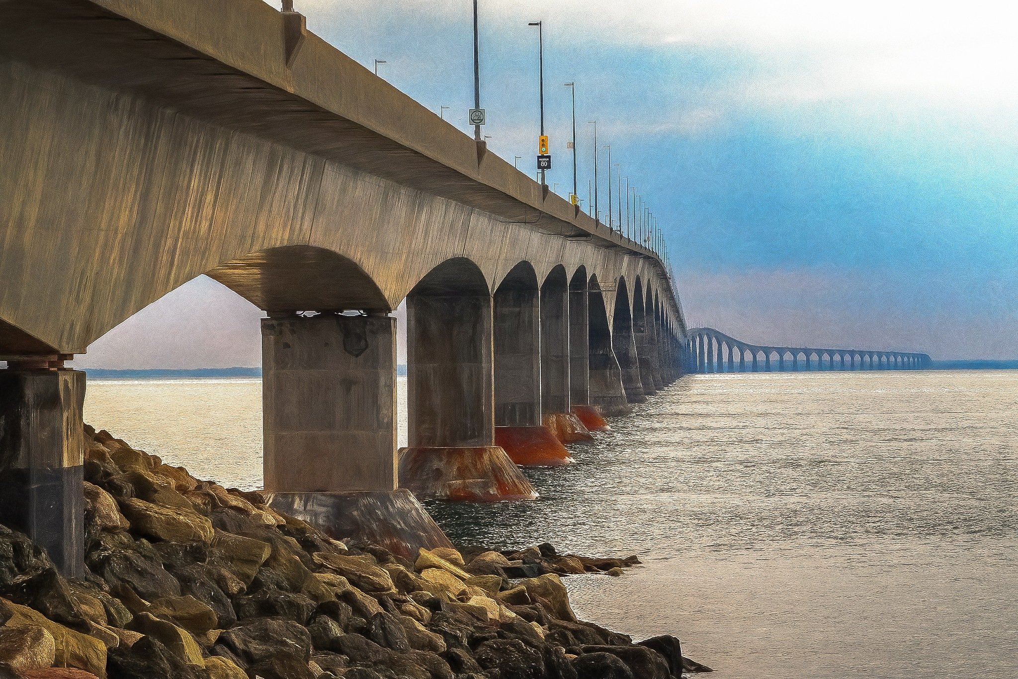 Confederation Bridge by Kevin Hancey