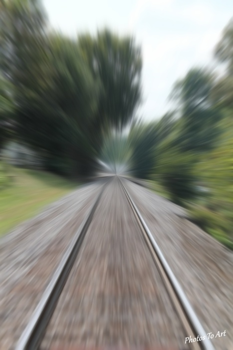 on the fast track by Calvin Burdette