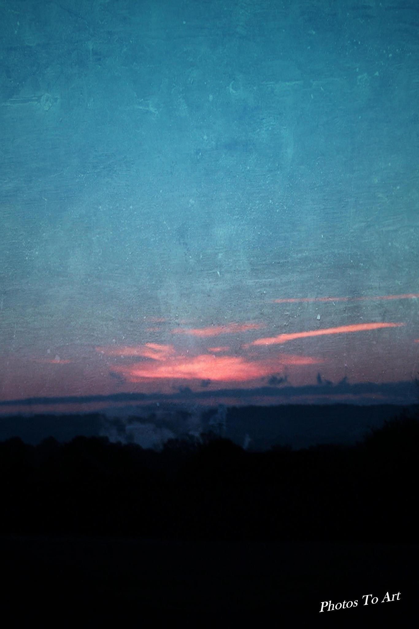 brushed sunrise by Calvin Burdette