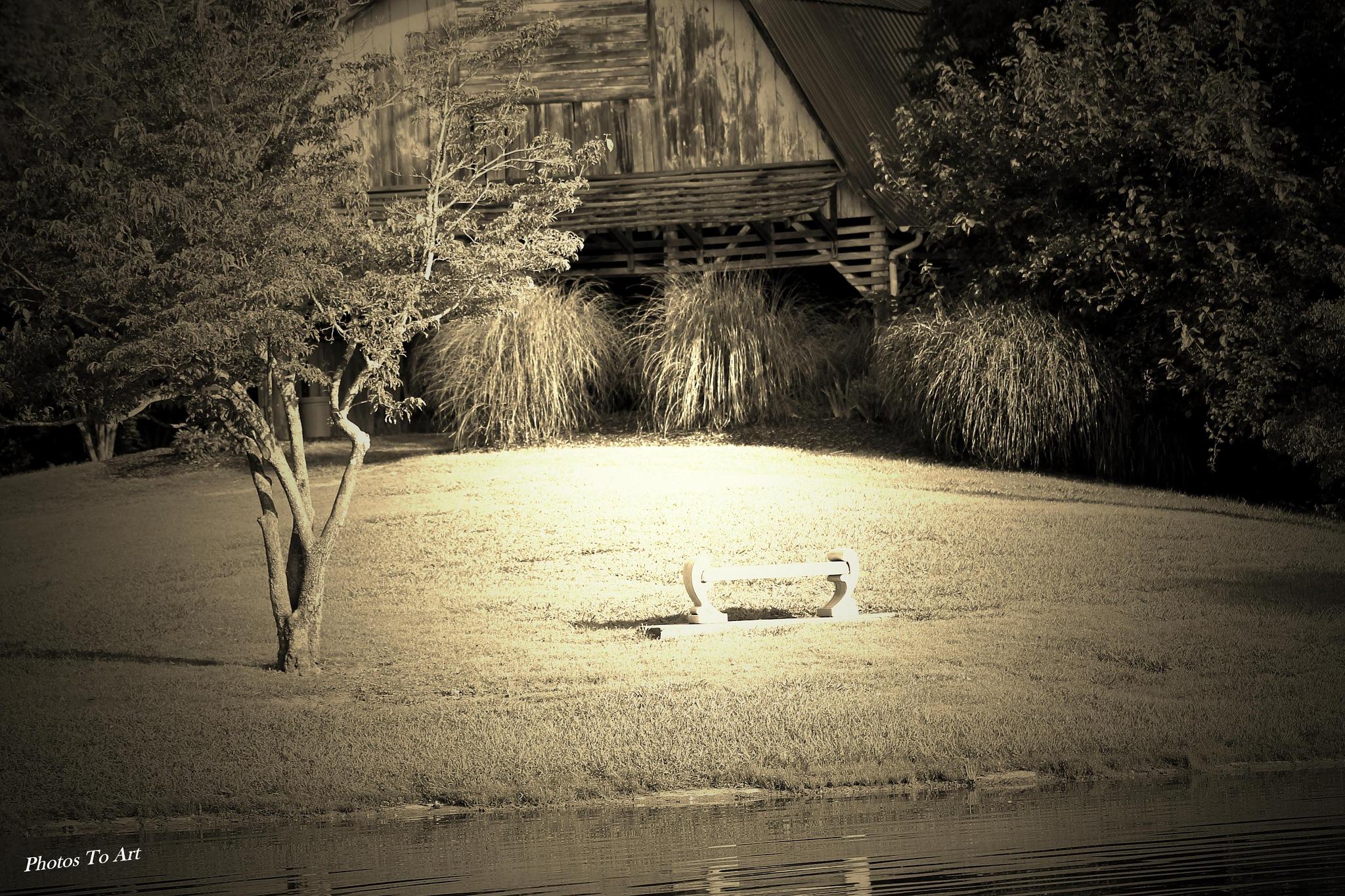 have a seat by Calvin Burdette