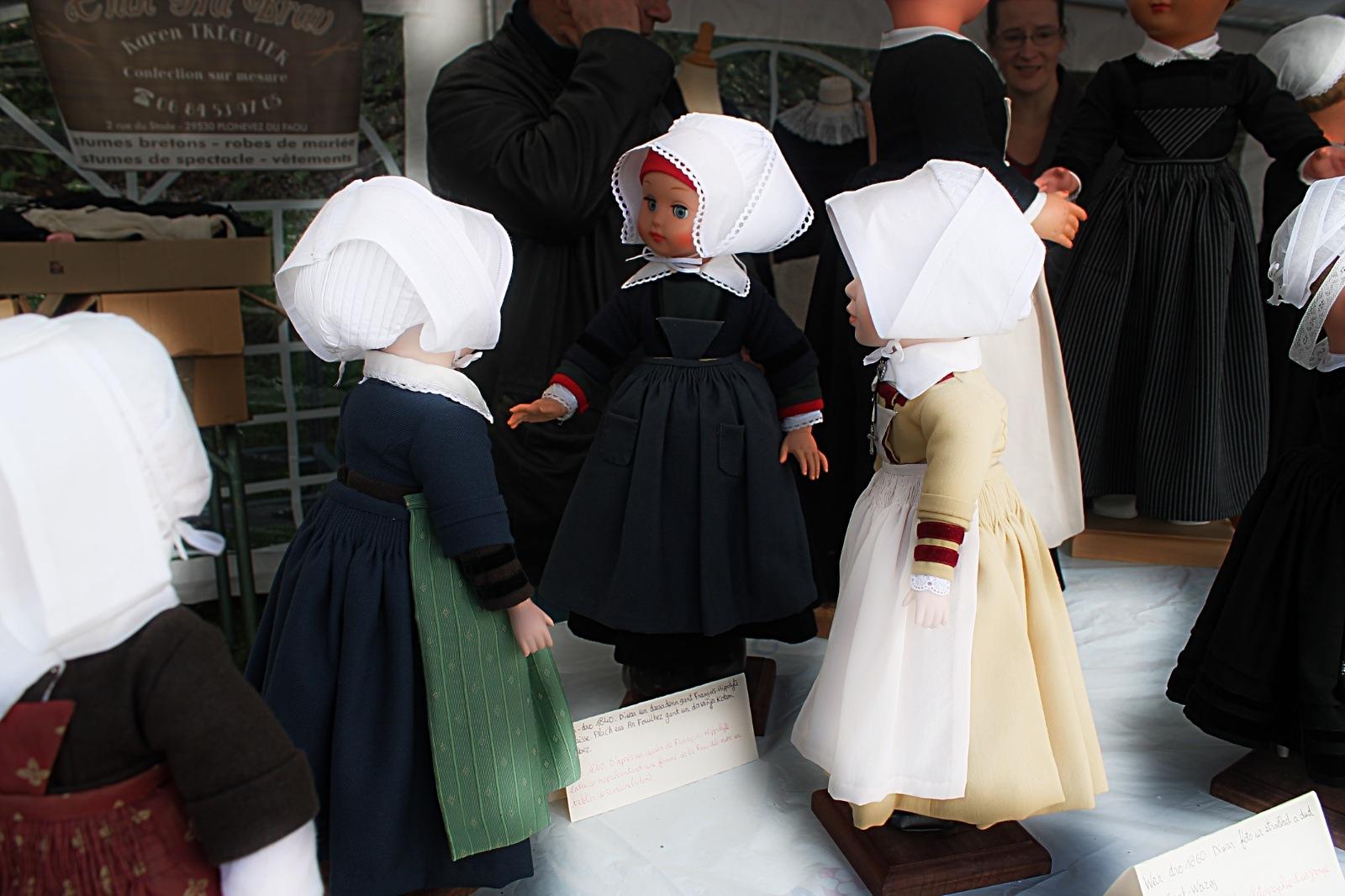 Doll's in Breton costume by Rob Helliker