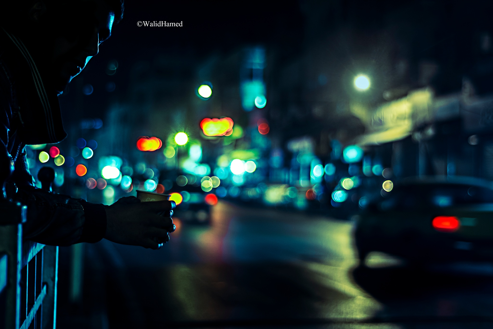 at the mid night  by Walid Hamed