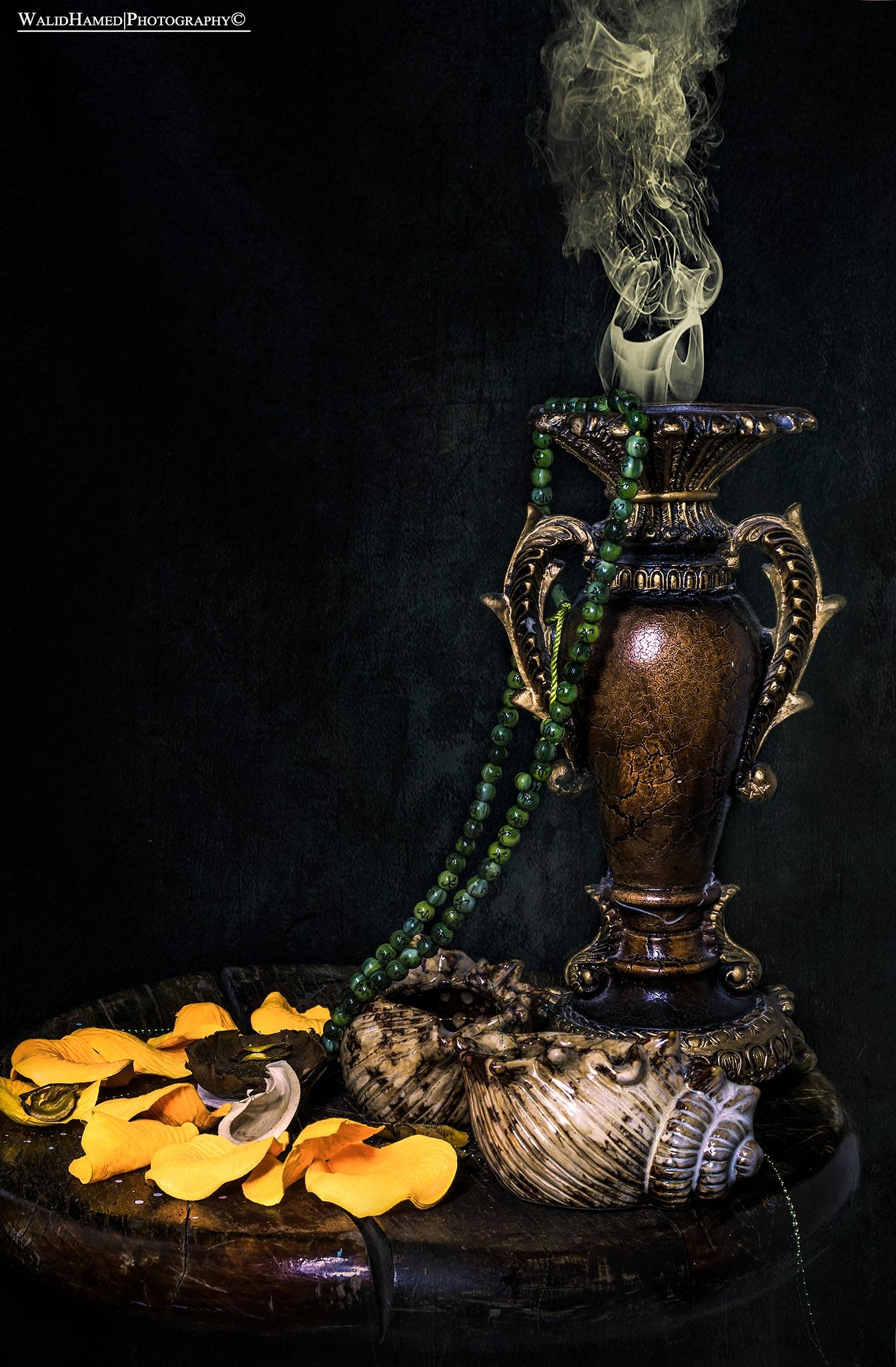 still life by Walid Hamed