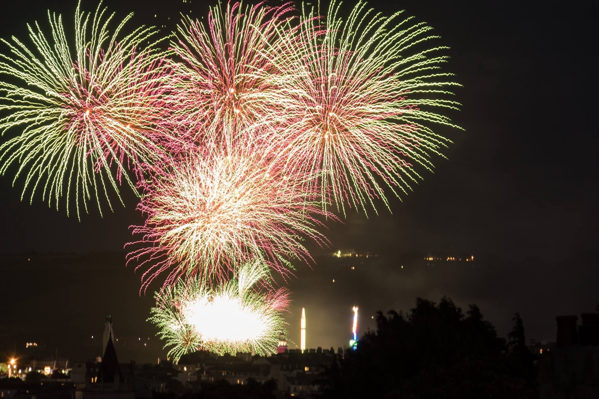 Fireworks by Phil Morgan