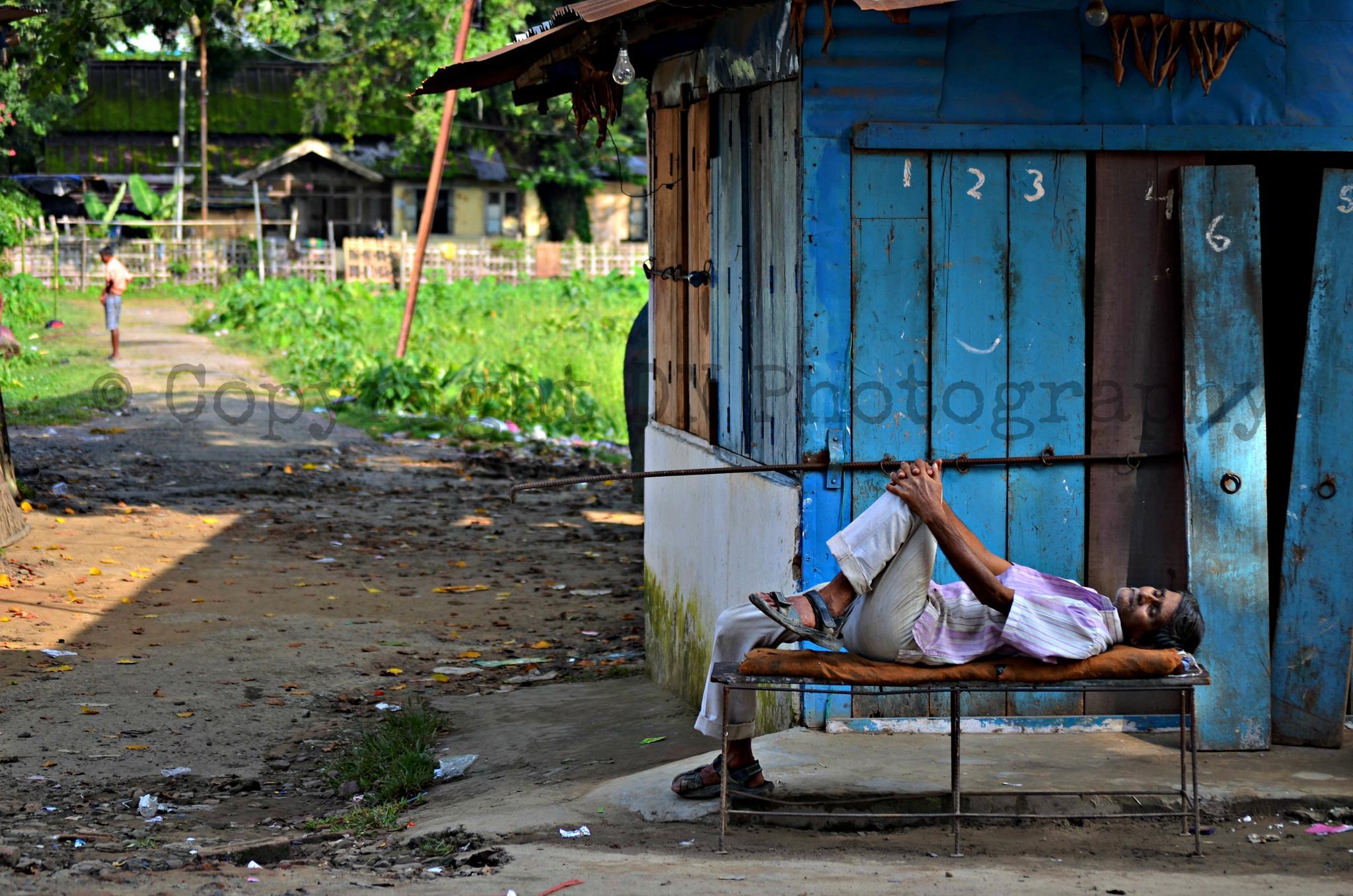 Man At Rest by Daipayan Nair