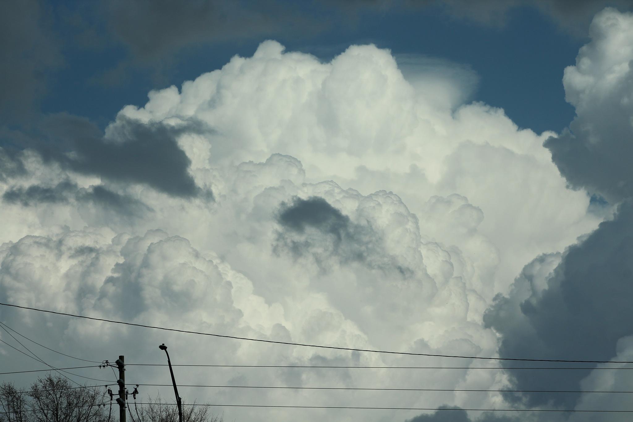 Huge Clouds by N4CER70