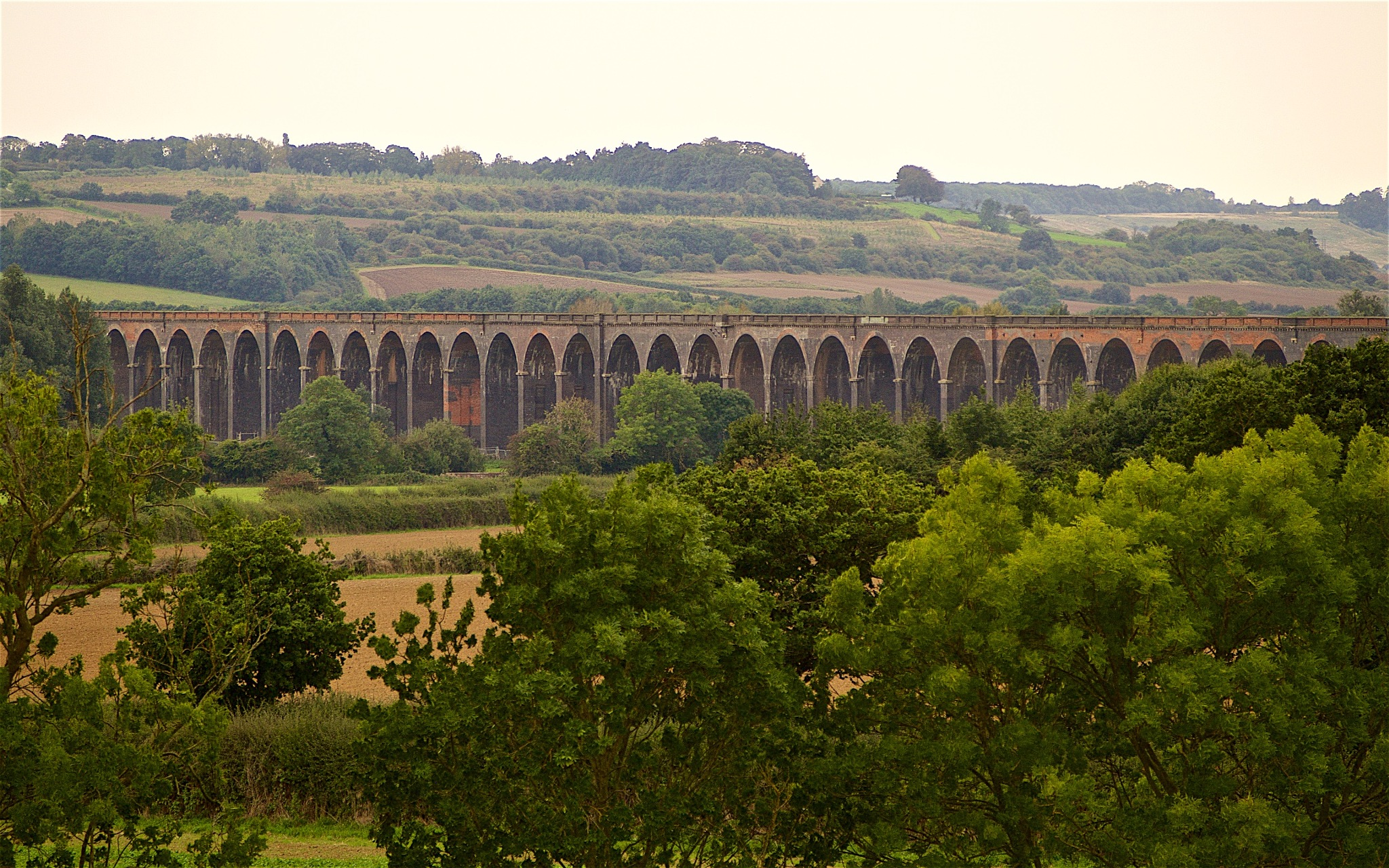 Harringworth Viaduct by Tony Otley