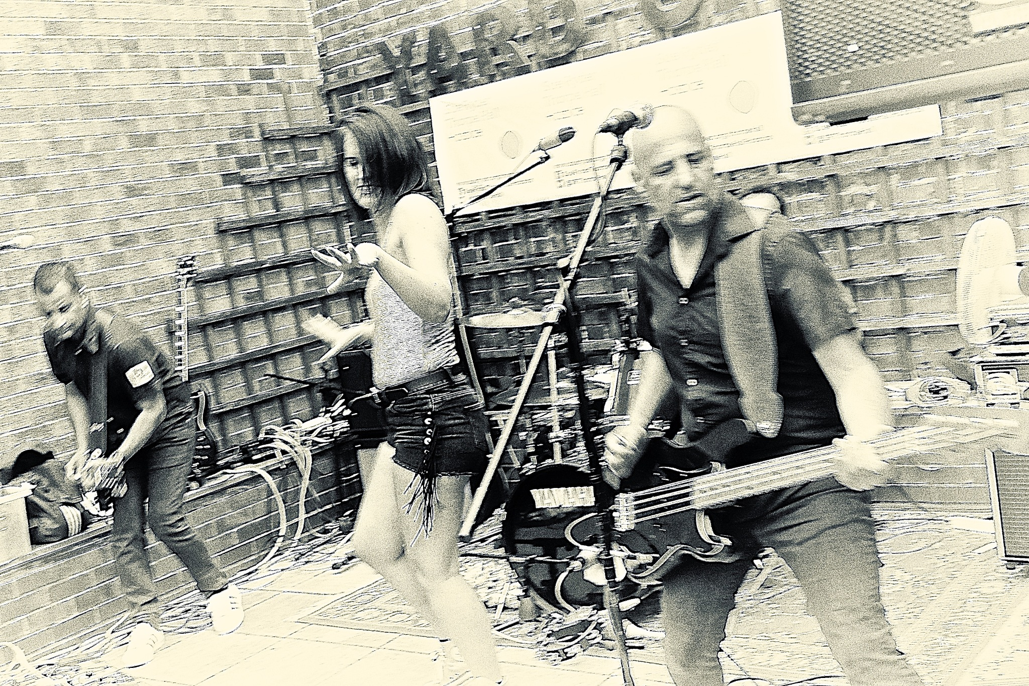 Punk rocking by Tony Otley