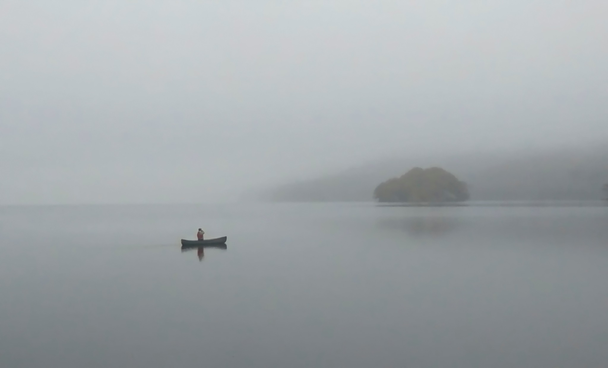 Coniston Water by A.J. Harrison