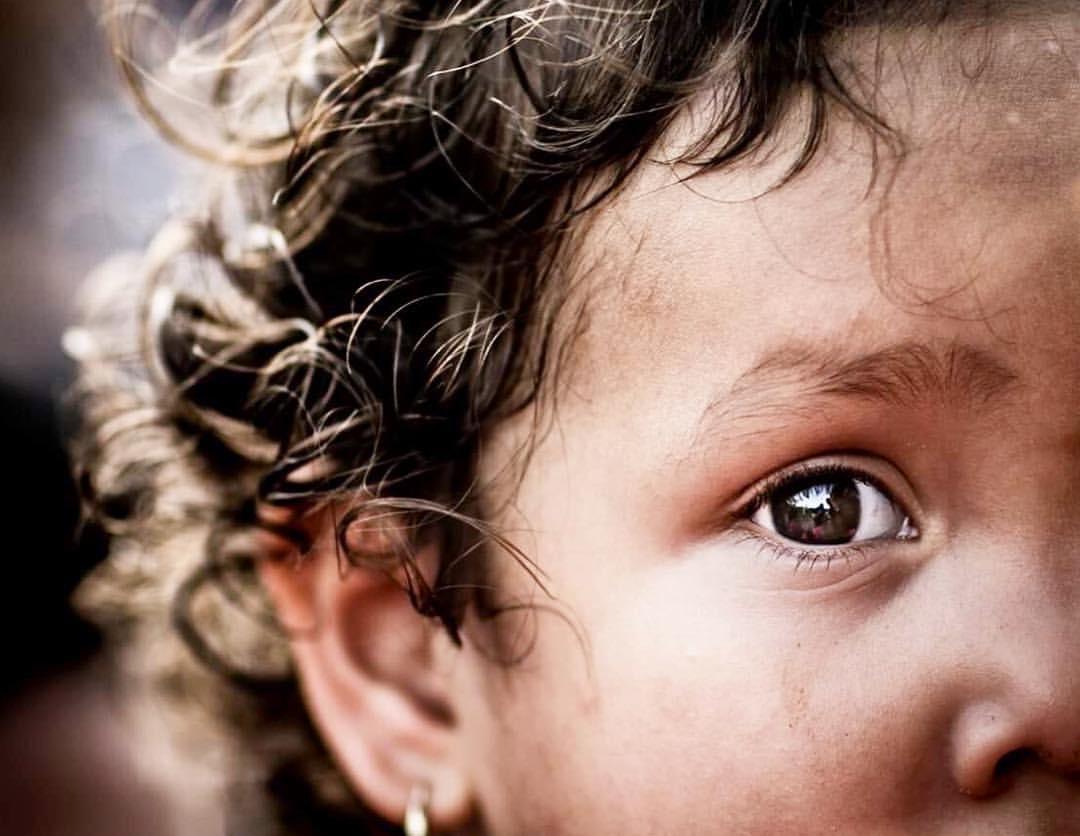 Childrens eyes by Udell jimenez