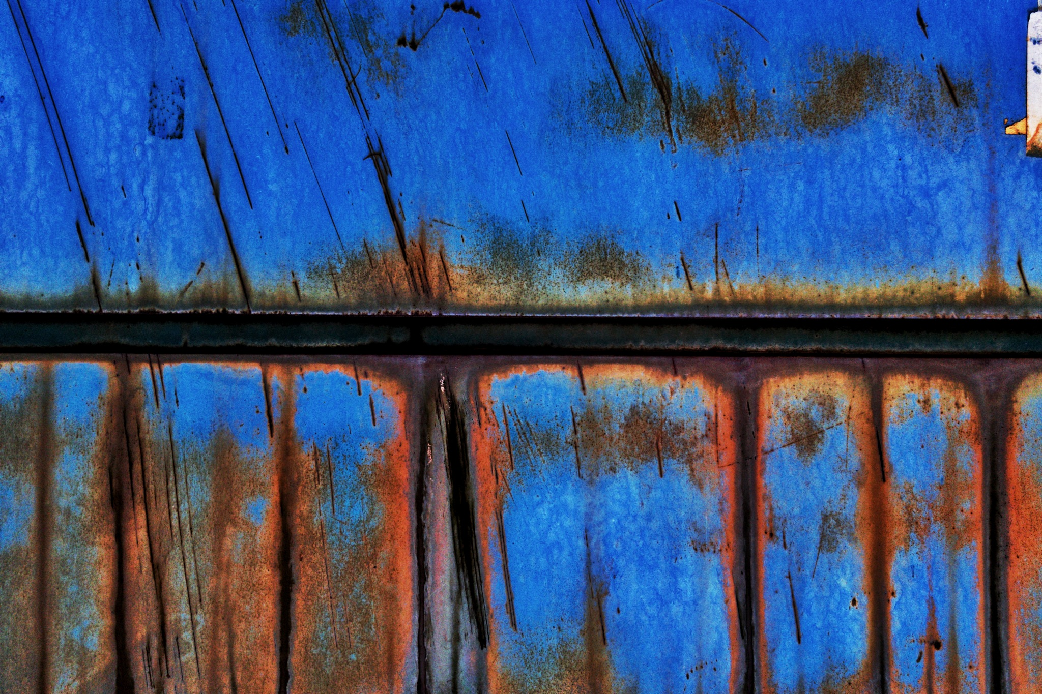 Rust Abstract  by Henry Kim