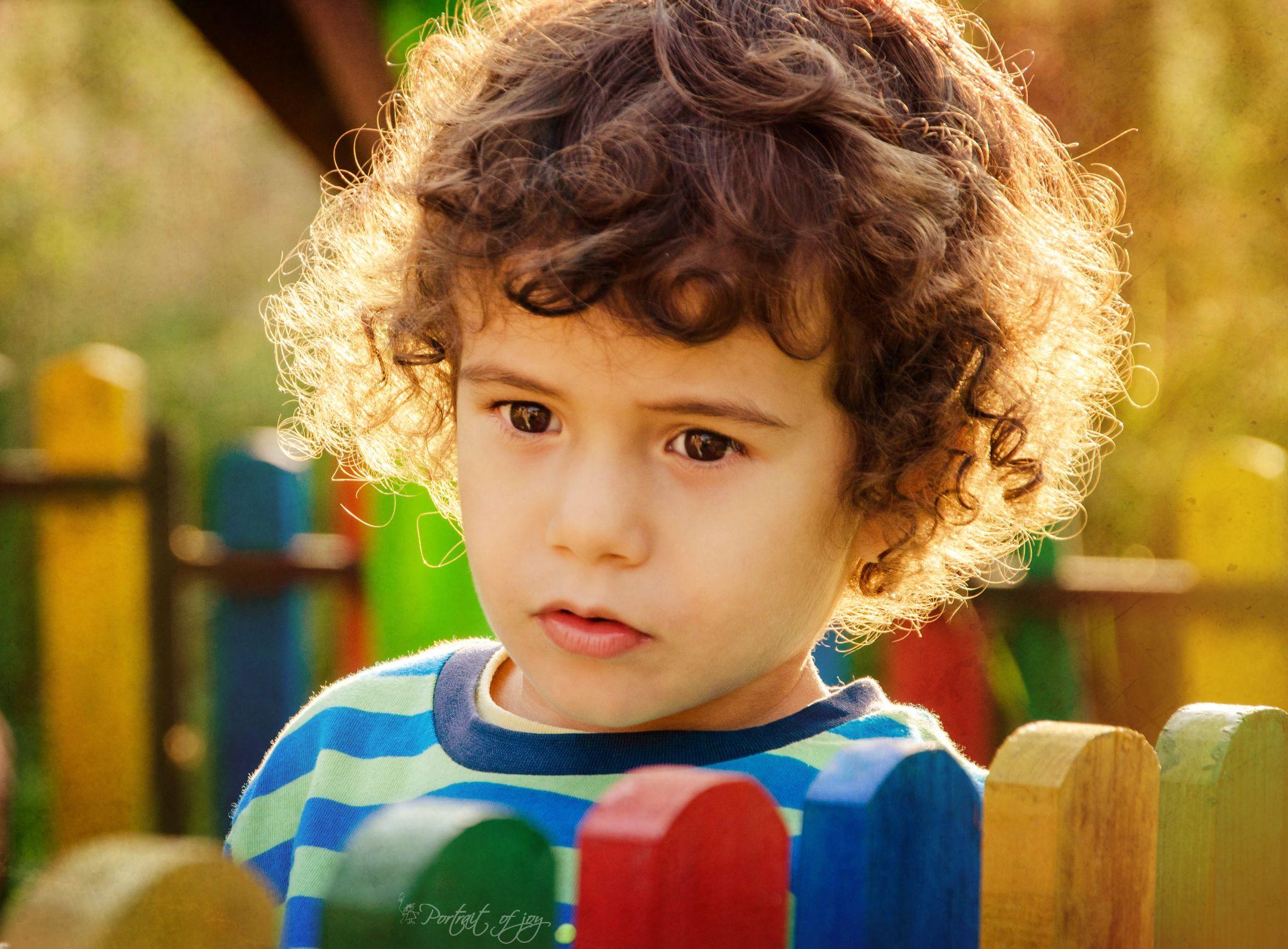 Golden boy by Portrait of Joy