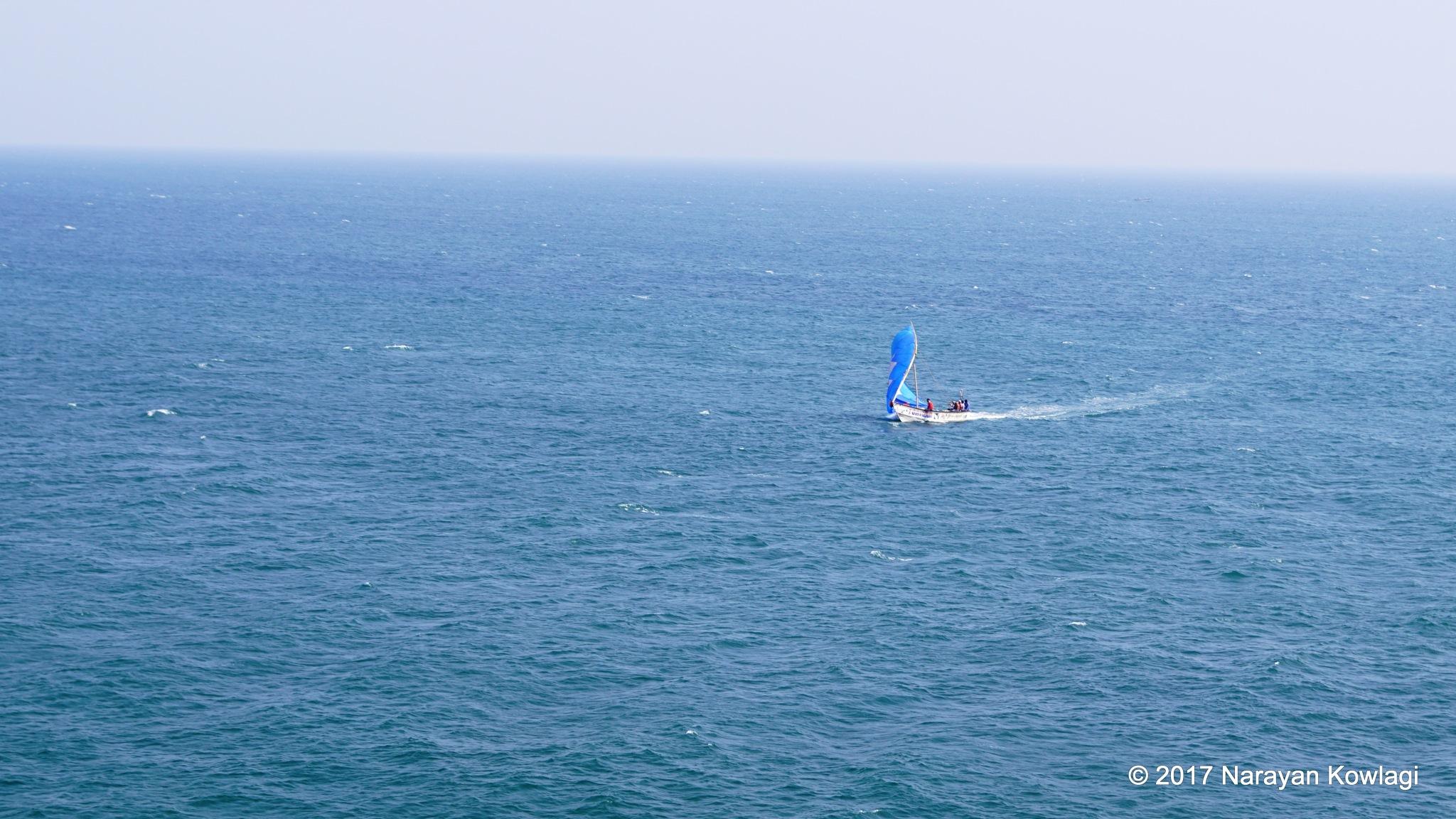 Speed Boat by Narayan Kowlagi