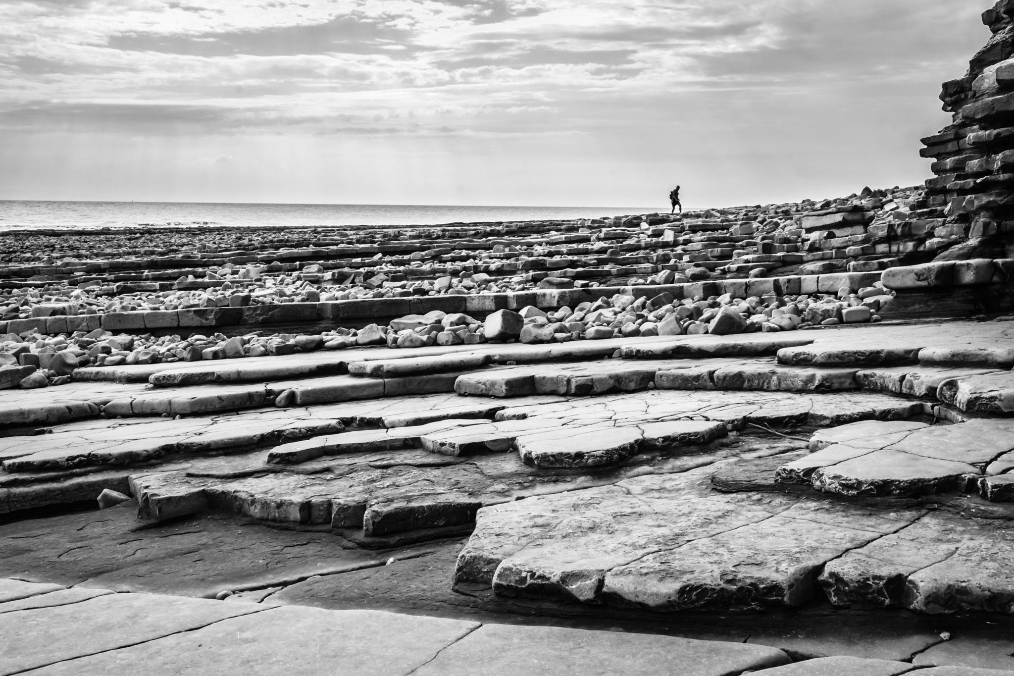 Lavernock Layers by Anthony_Mitchell