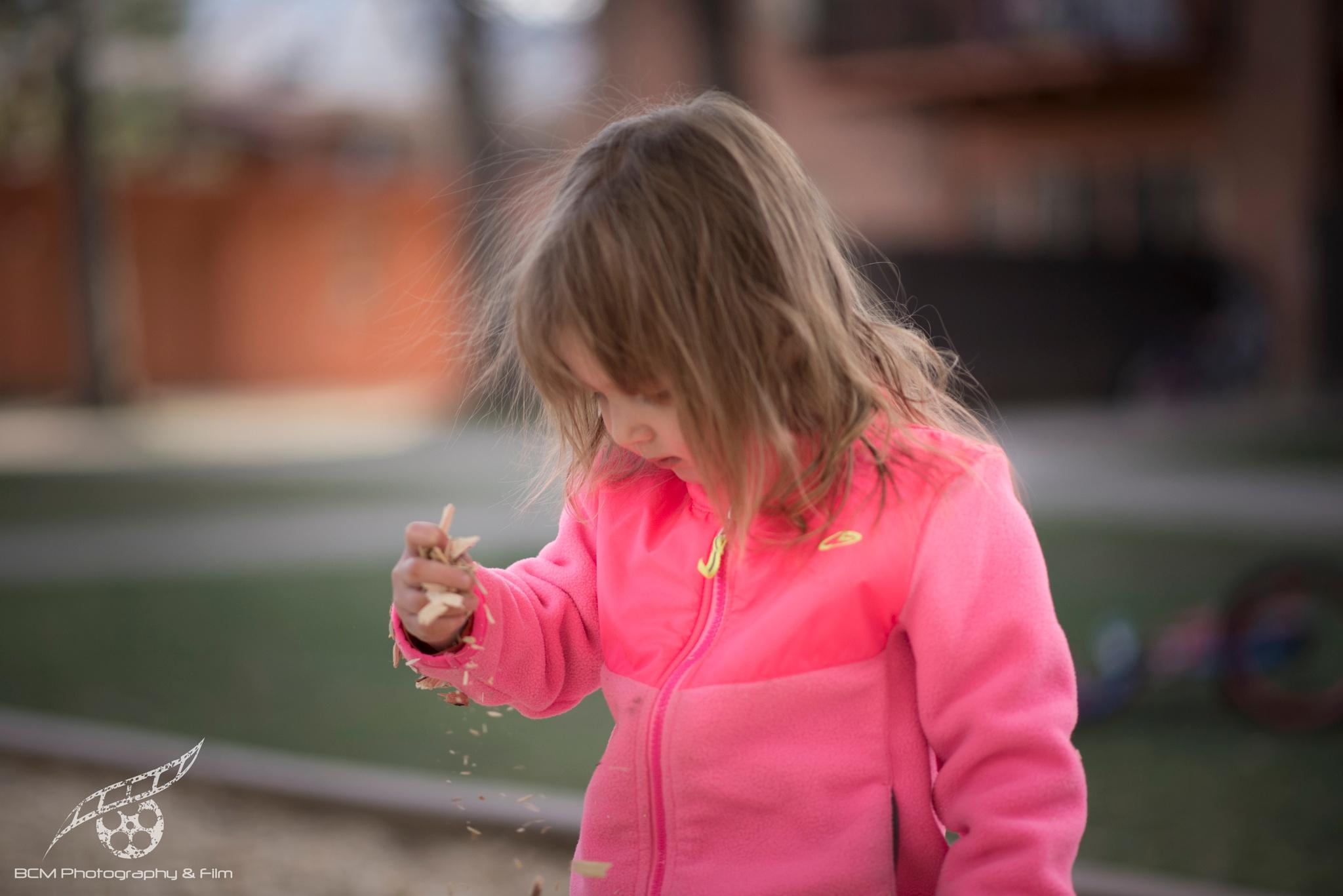 At The Playground by Barbara Cardinali MacFerrin