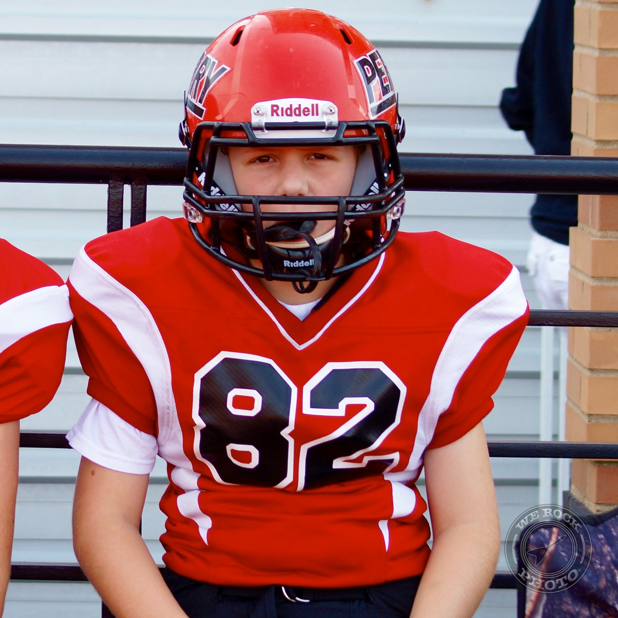 Photo in Portrait #football #youth football #perry #ohio #pirates #tackle #kids #sports #portraits