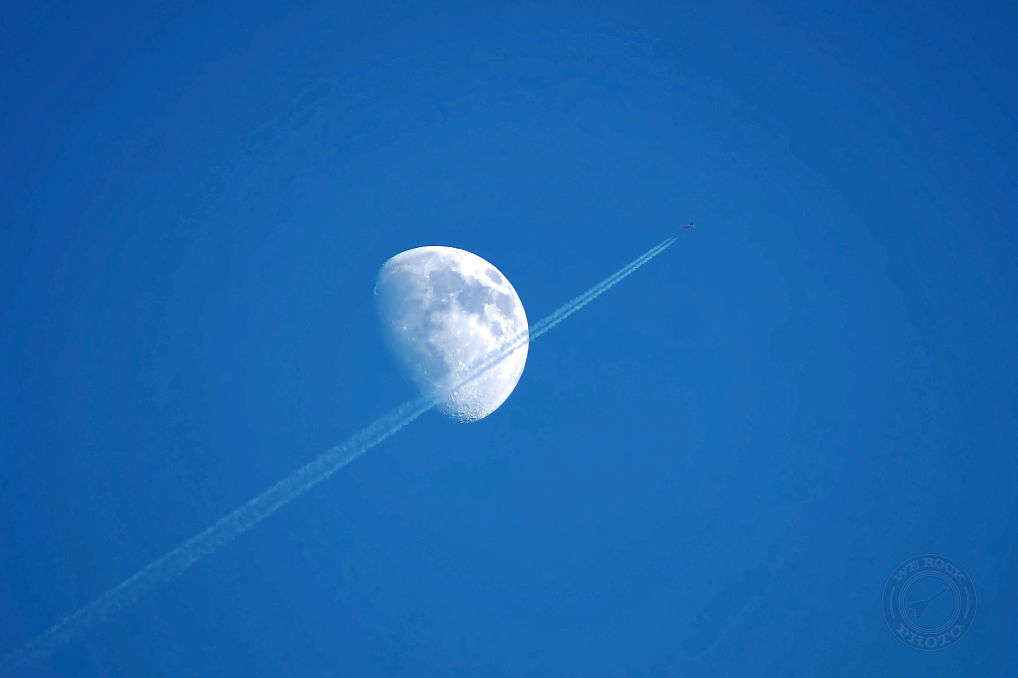 Lunar Fly by by Dominic T. Flauto