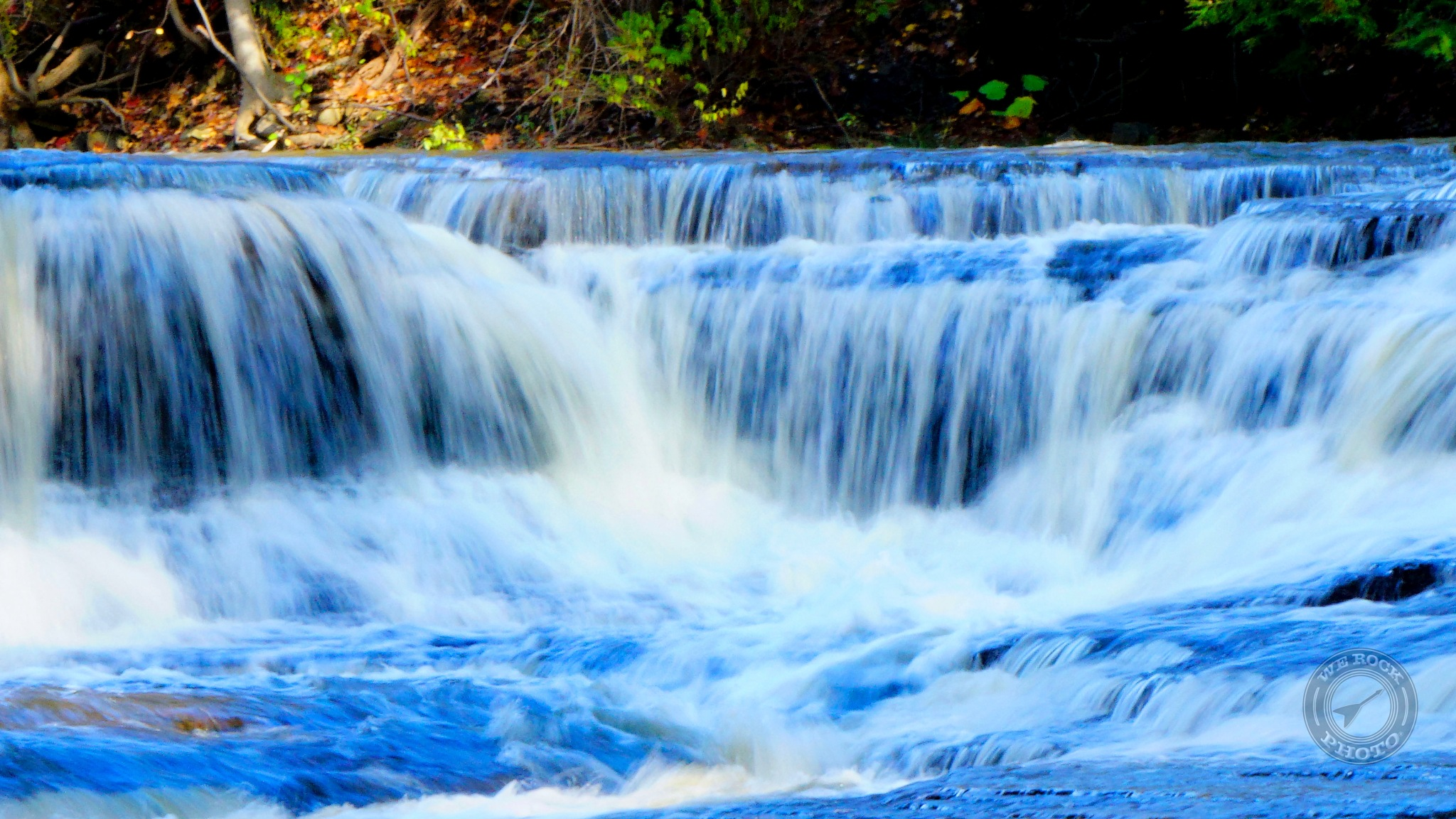 Waterfall - Chagrin River by Dominic T. Flauto