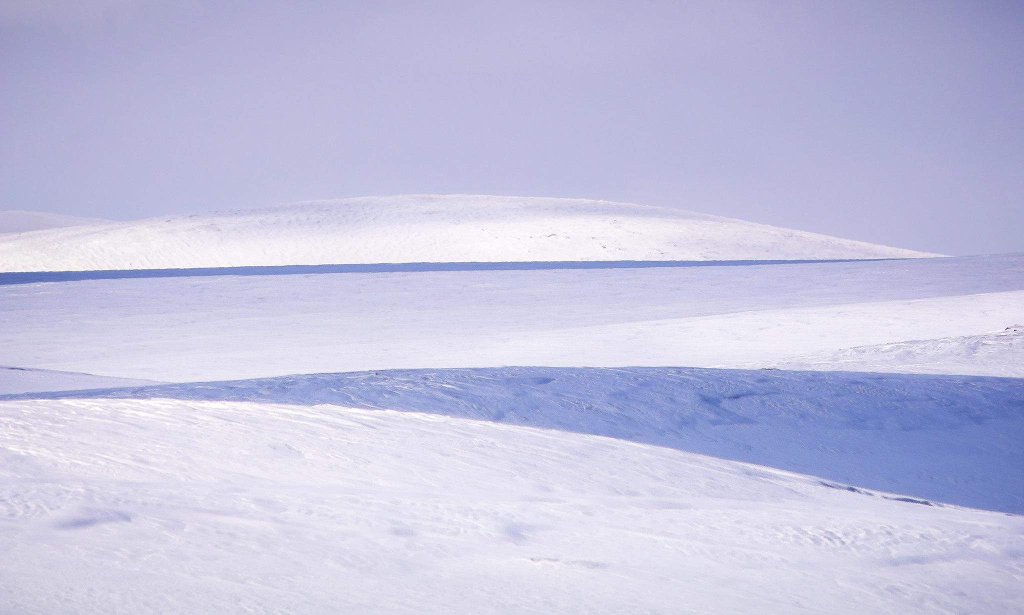 Snow fields by elisah