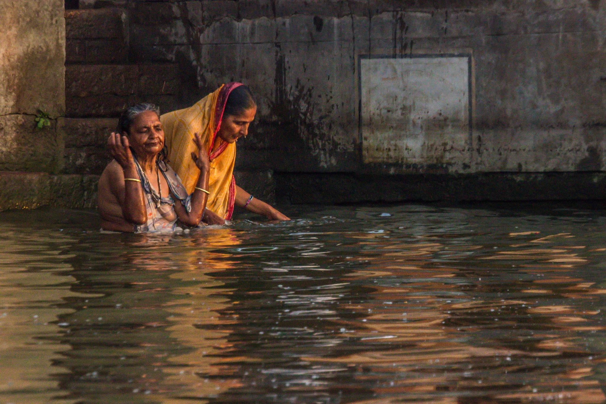 The sacred bath by elisah