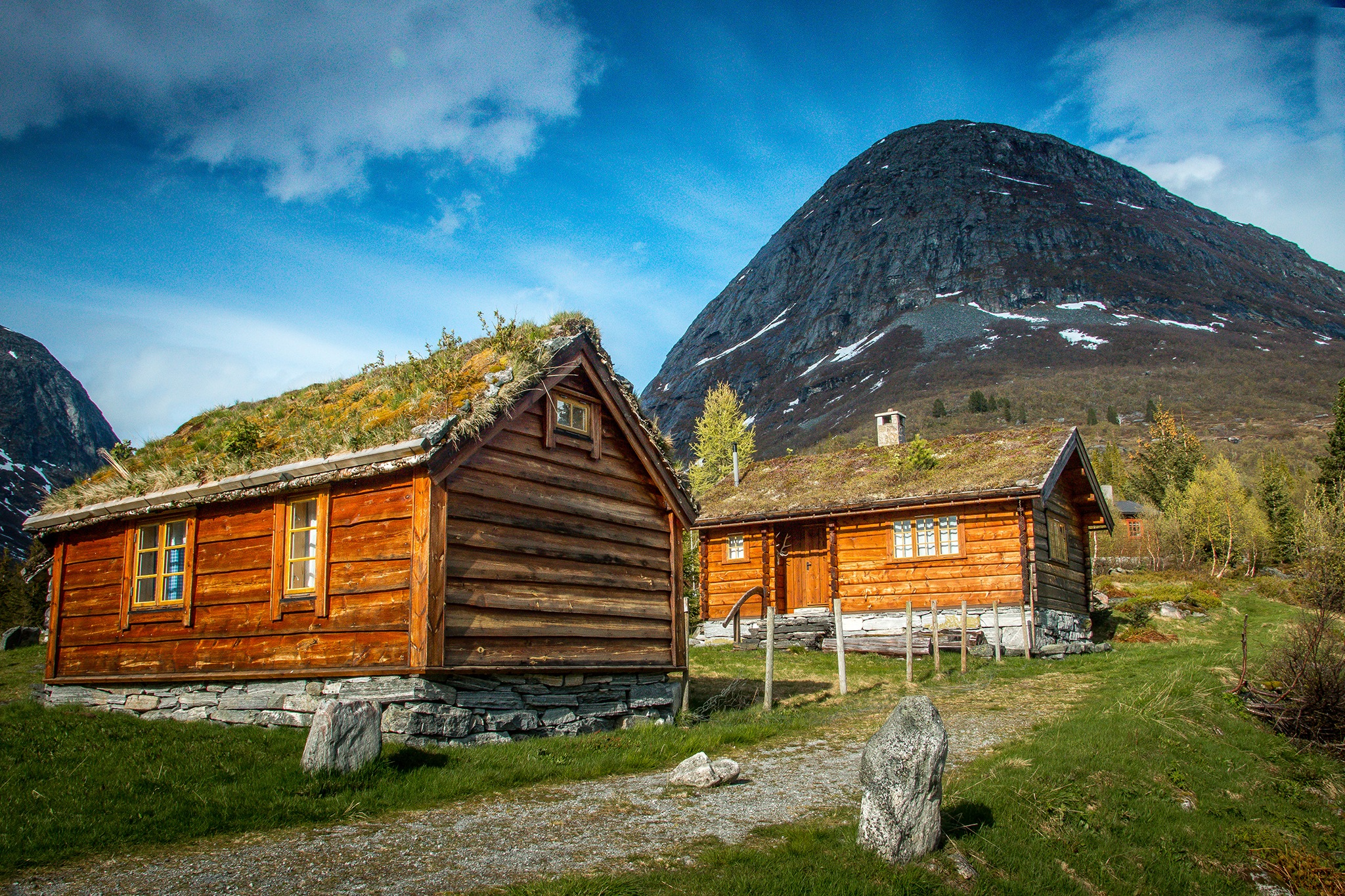 Mountain cottages by elisah
