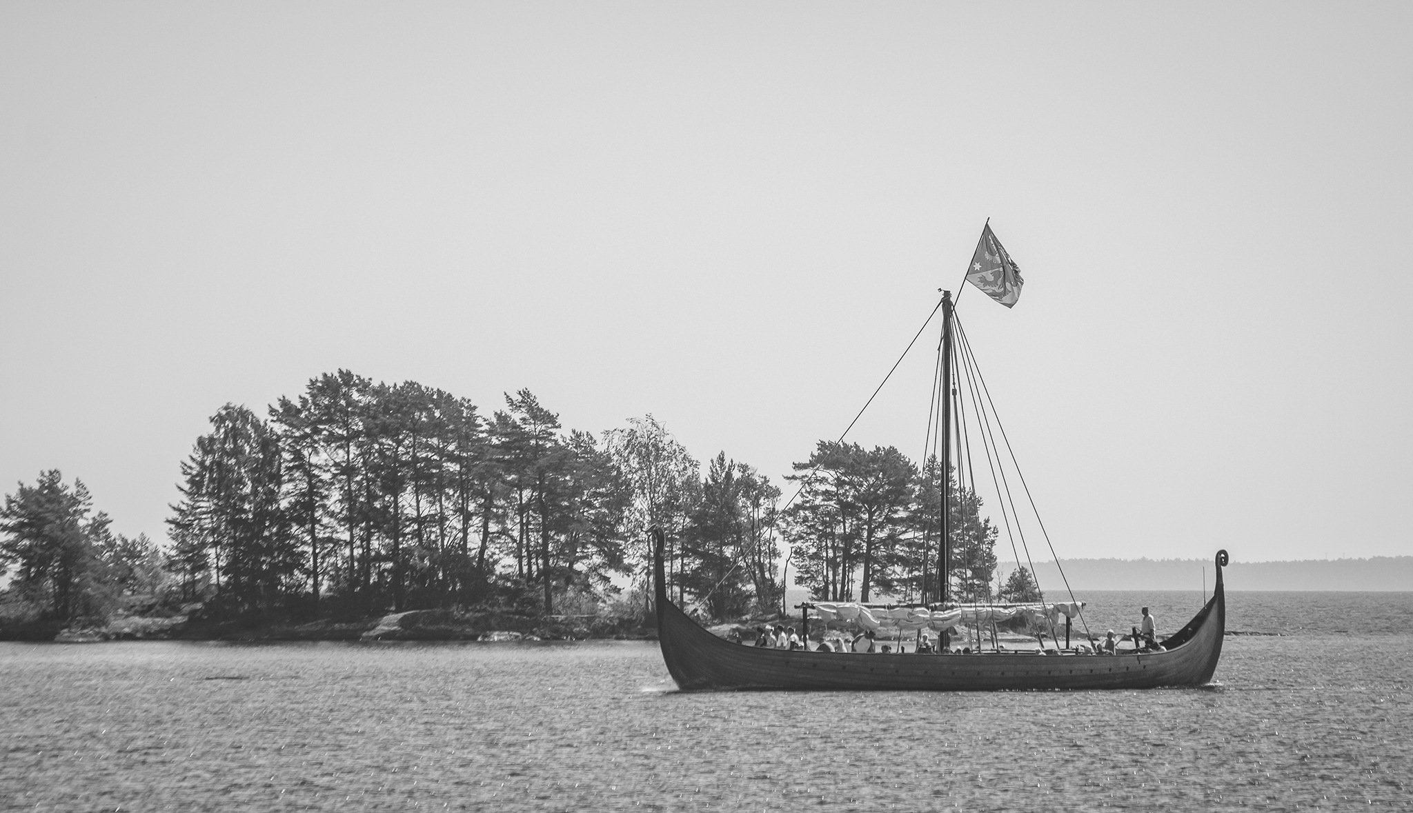 Viking ship by elisah