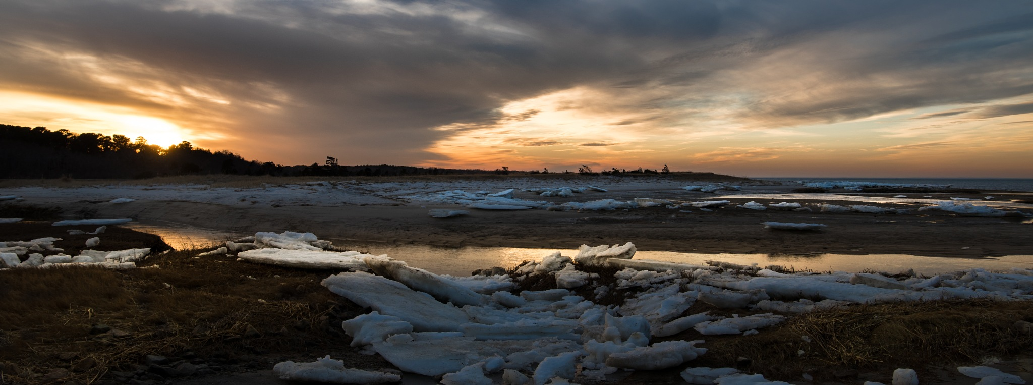 Last of the snow by Todd Hyde
