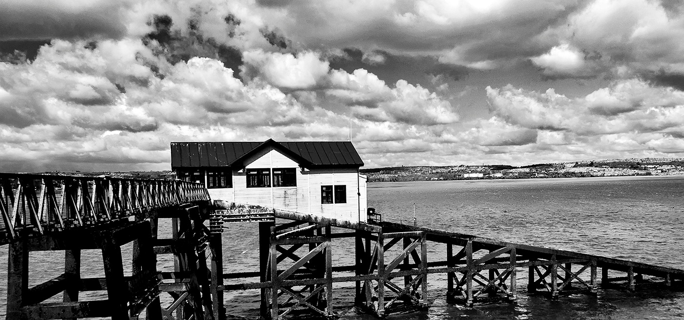 Old lifeboat station by edwinphillips