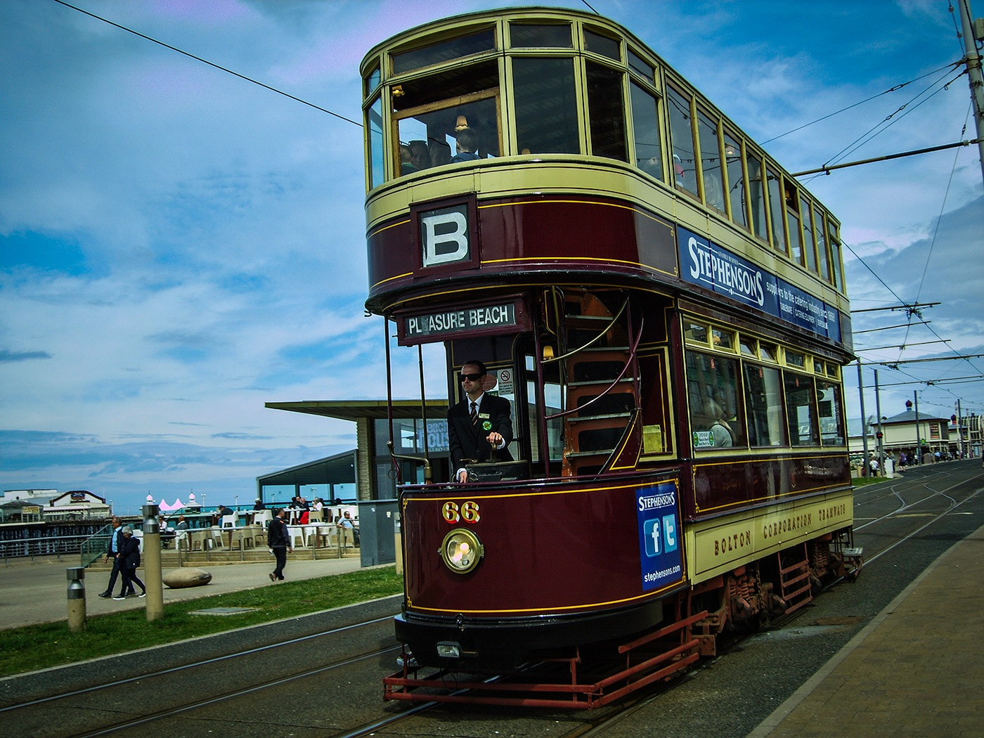 Blackpool past by edwinphillips