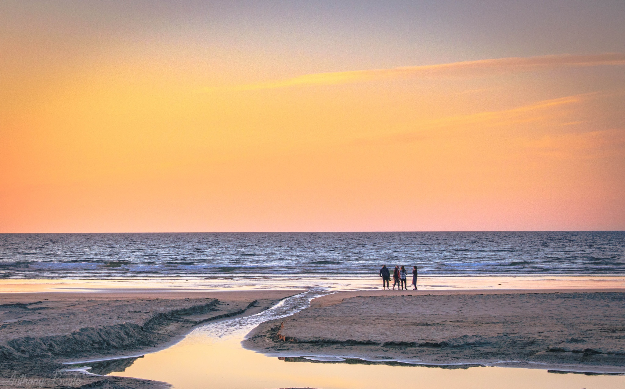 Sunset with Friends by Anthony Boyle