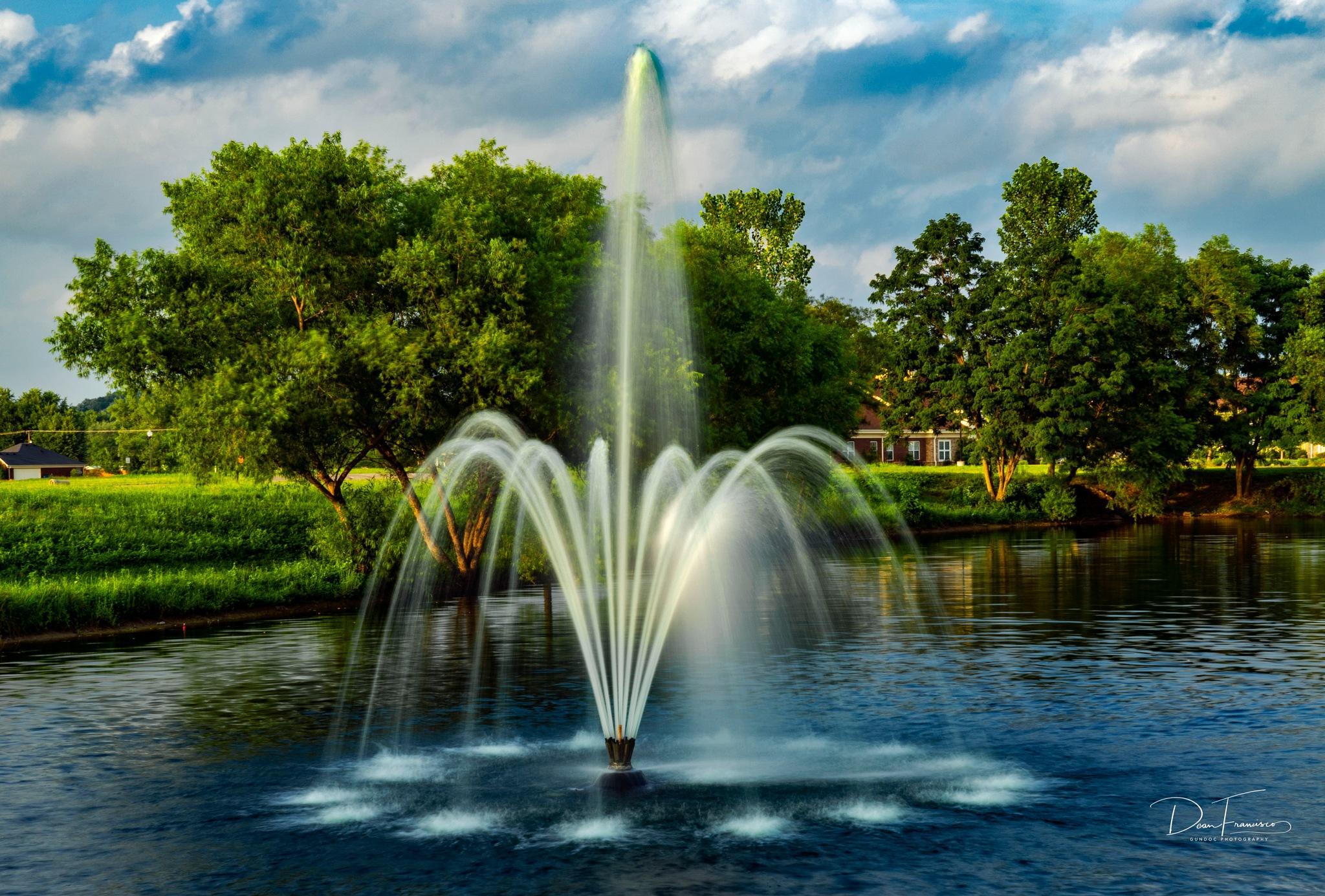 Local subdivision Fountain by Dean Francisco