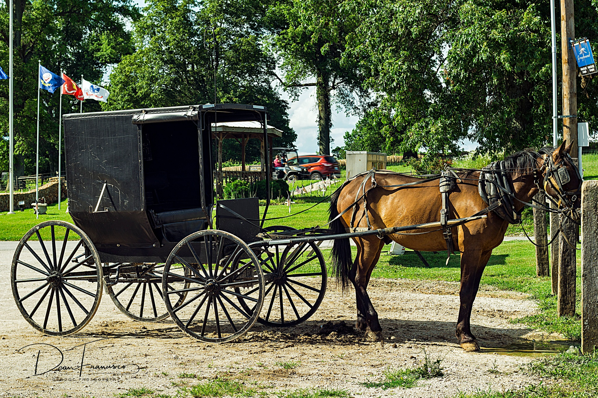 Amish Buggy SUV version by Dean Francisco