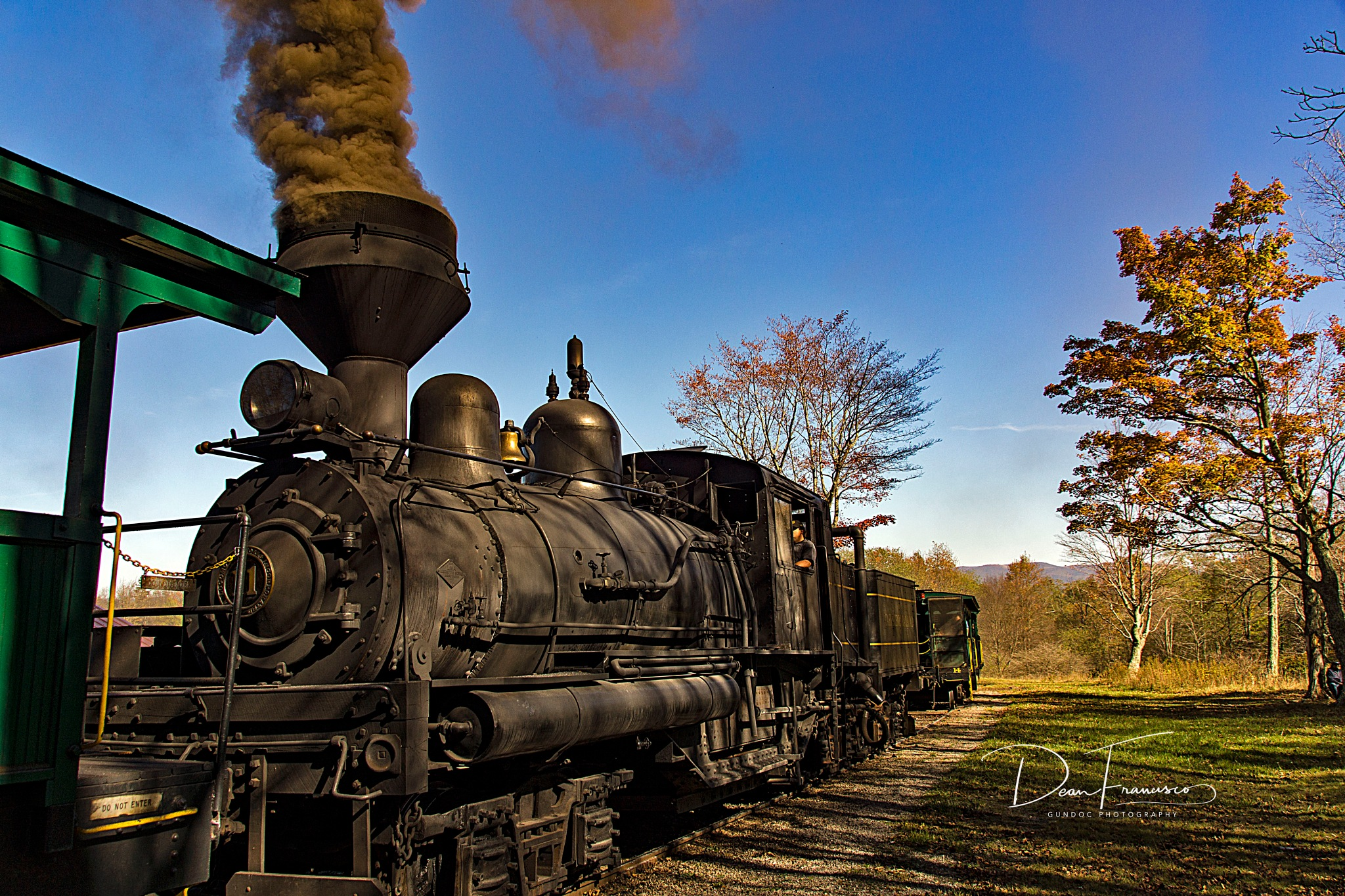 Cass Scenic Railroad Shay 11  by Dean Francisco
