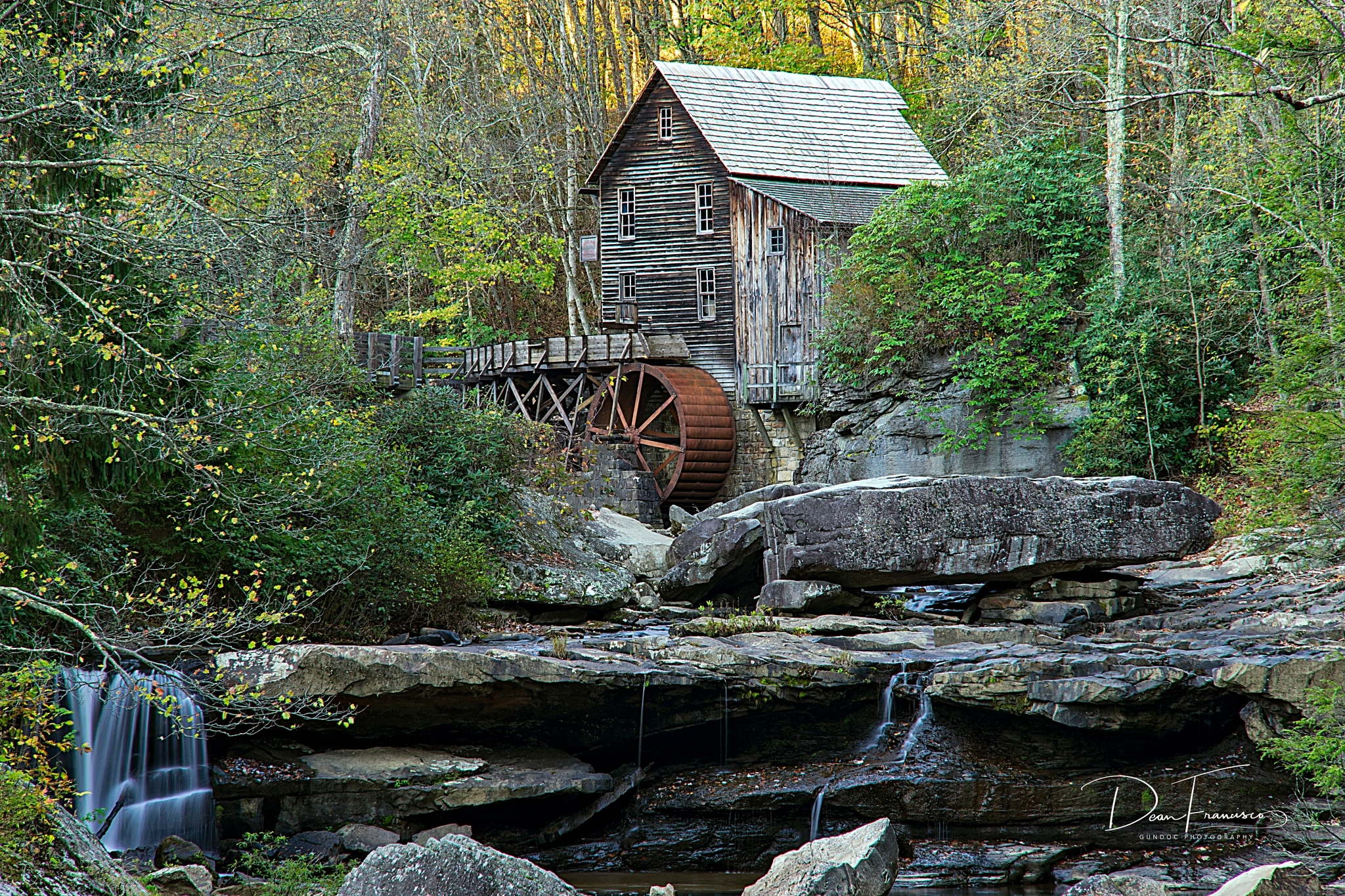 Glade Creek Grist Mill by Dean Francisco