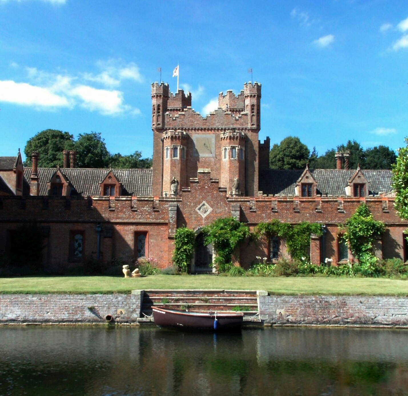 Oxborough Hall by Shannon Peeling