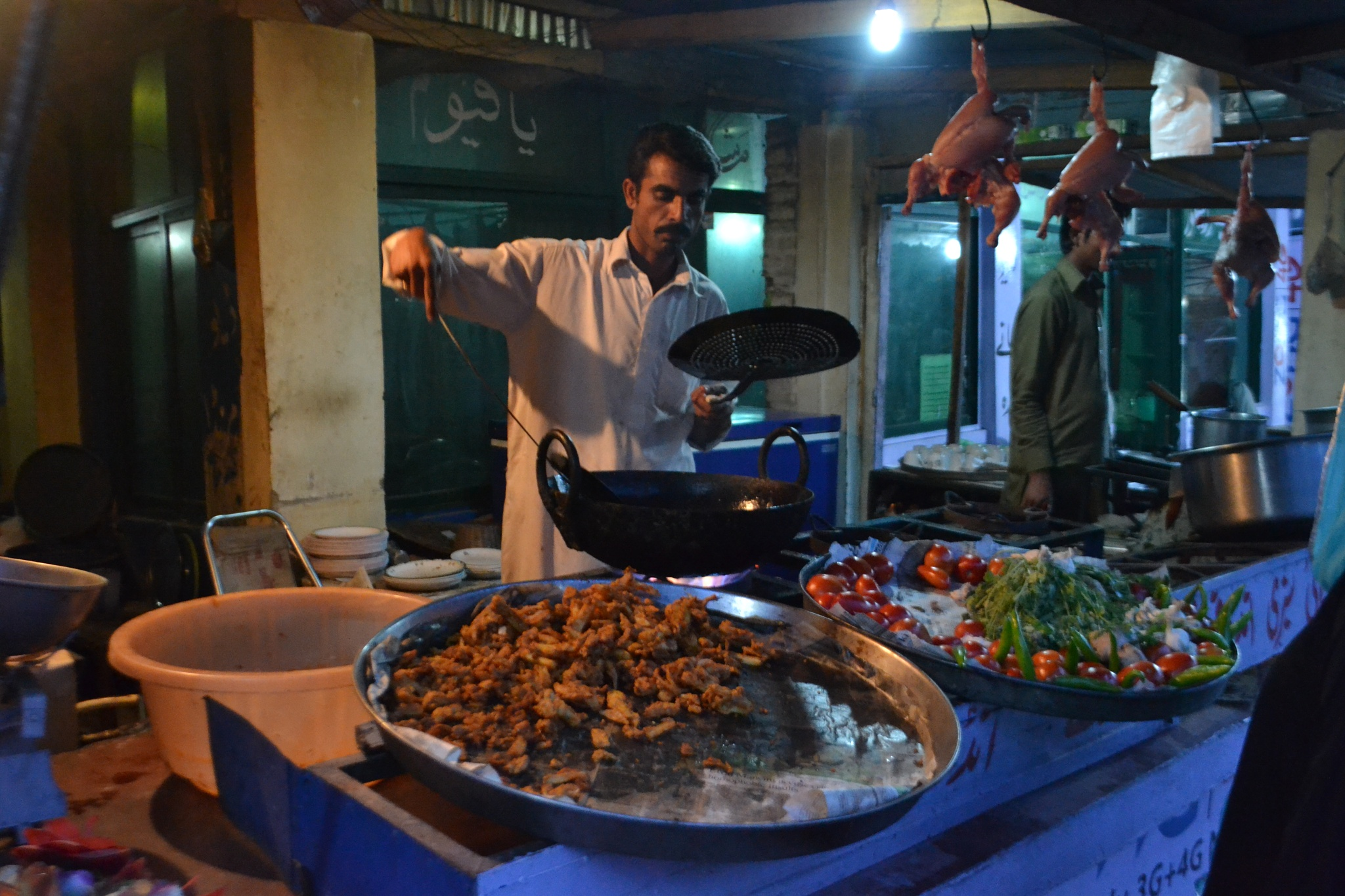 Street Food by SumbalAwan