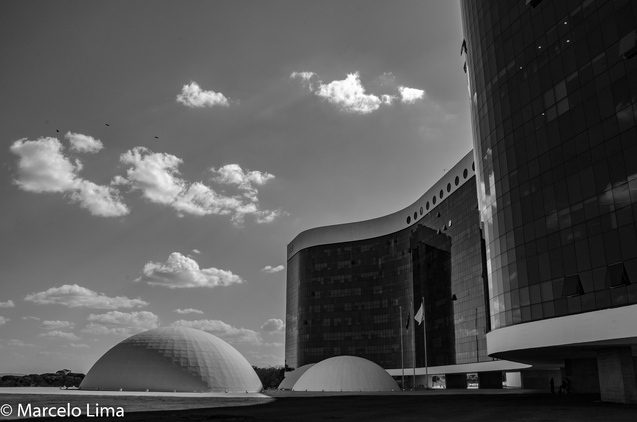 TSE building by Marcelo Lima