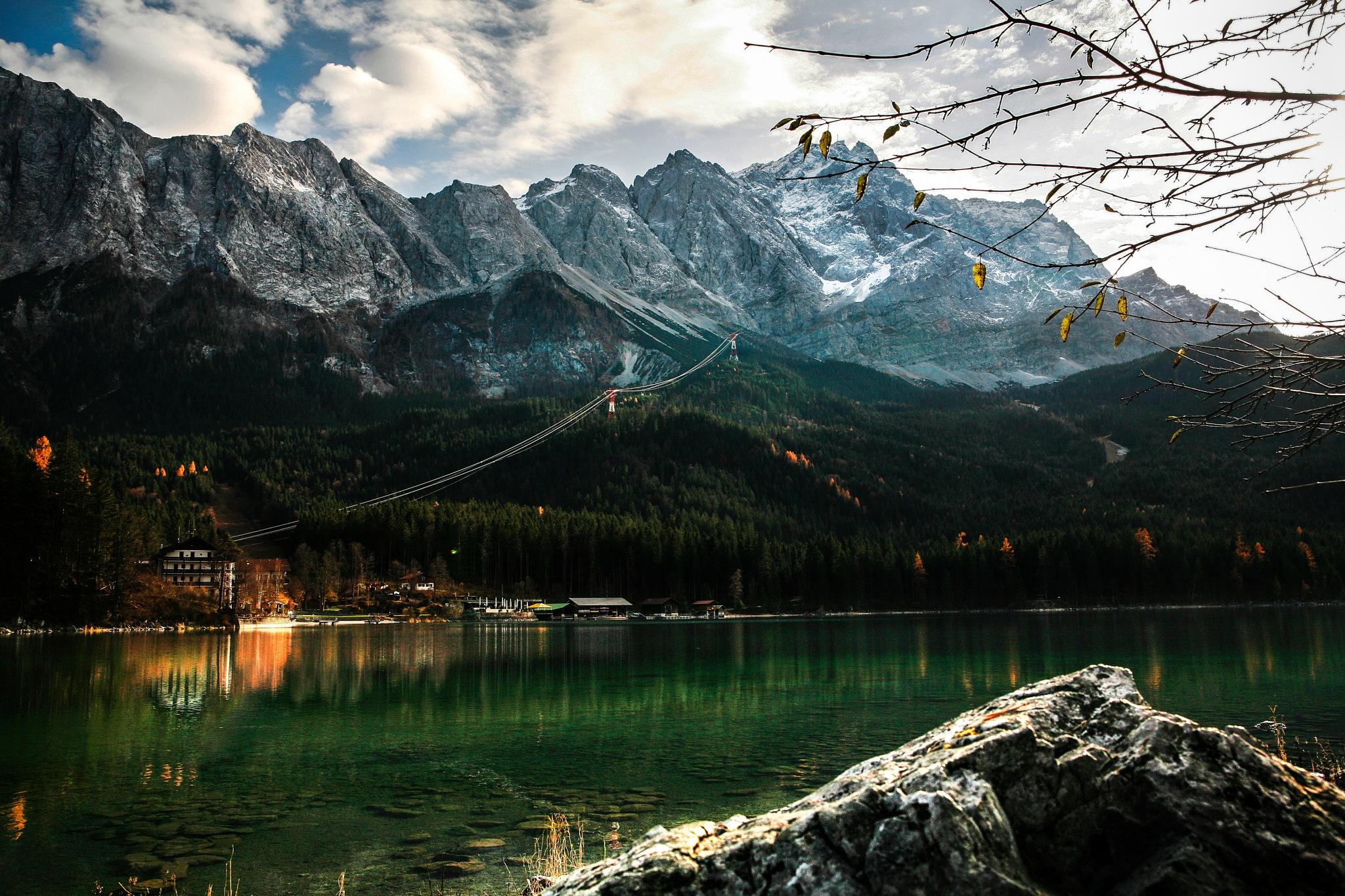 Zugspitze by Jostein Eidem