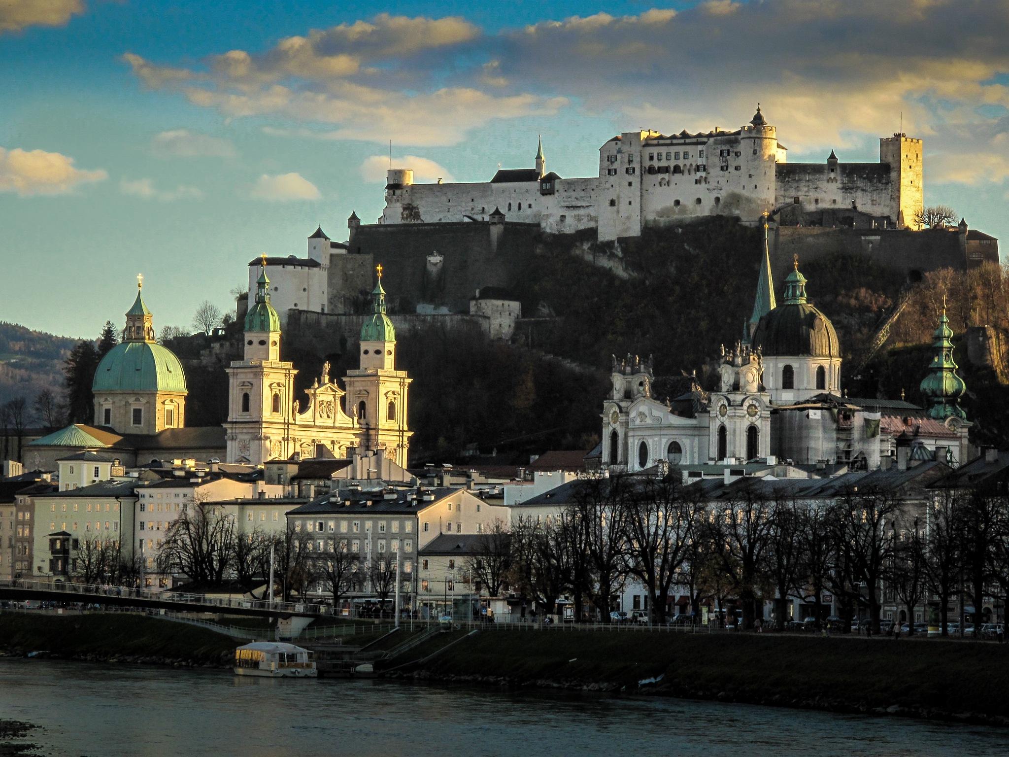 Castle of Salzburg by Jostein Eidem