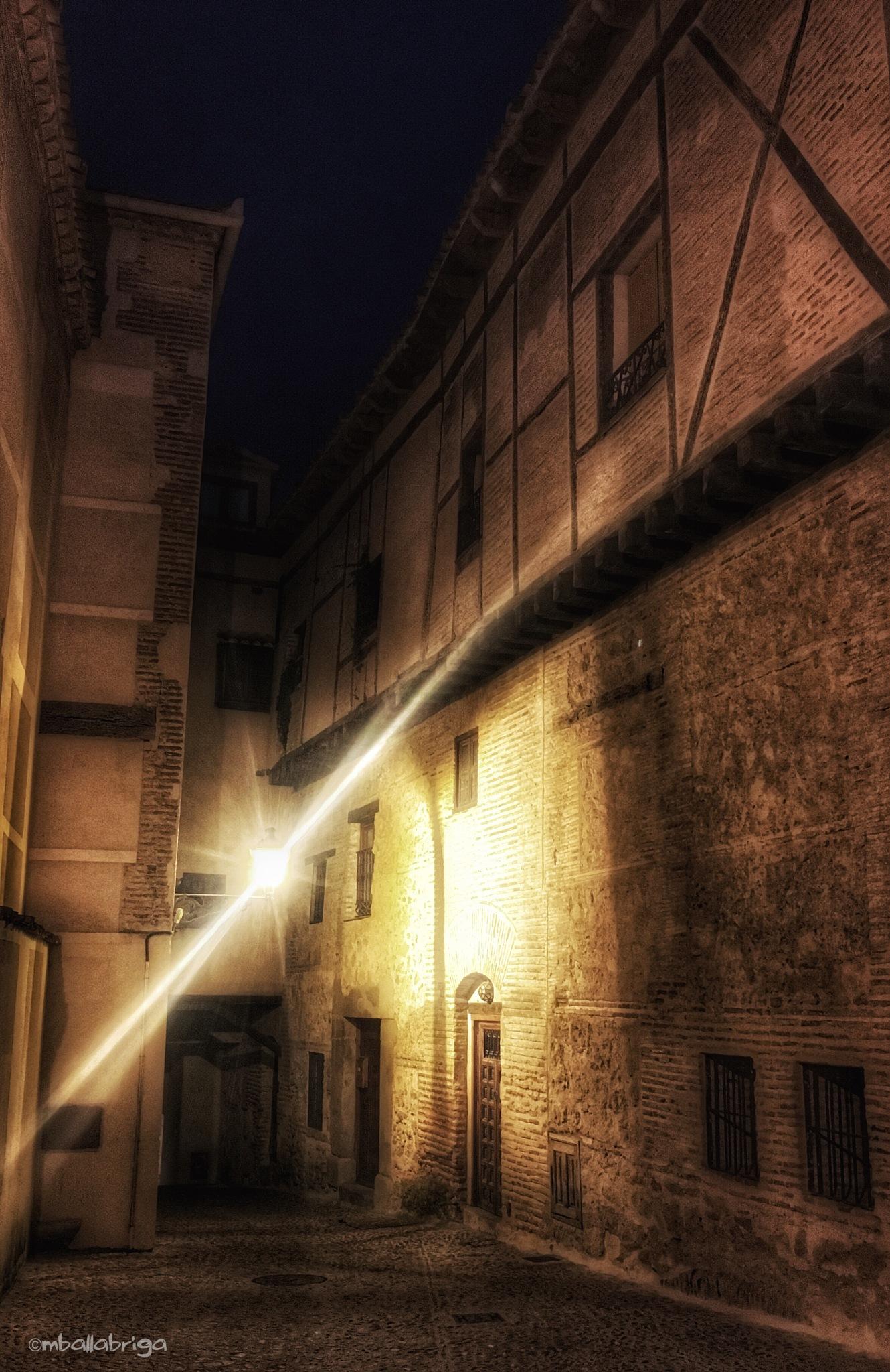 Street at Segovia  by Miguel Ballabriga