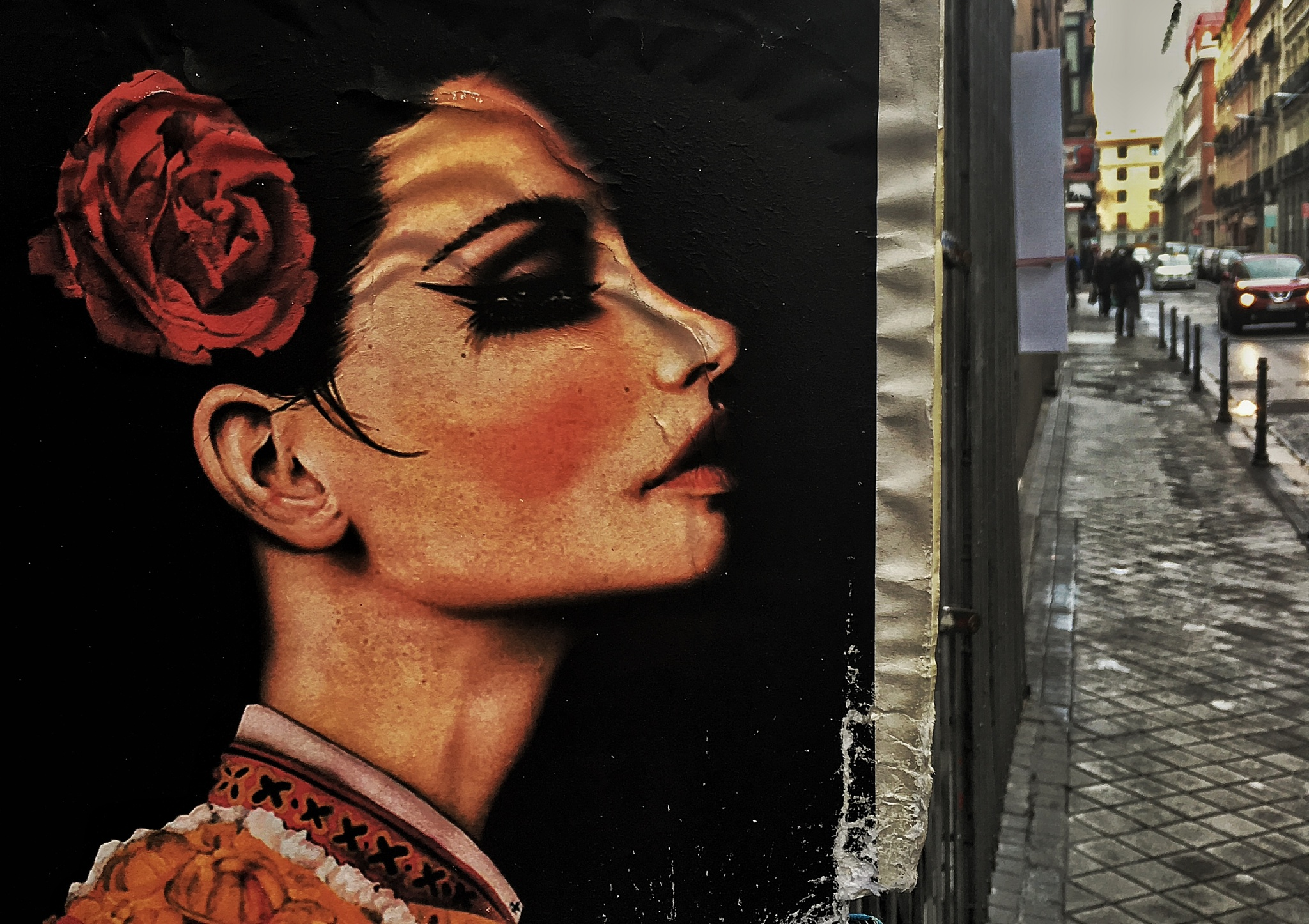 Looking to the street by Miguel Ballabriga