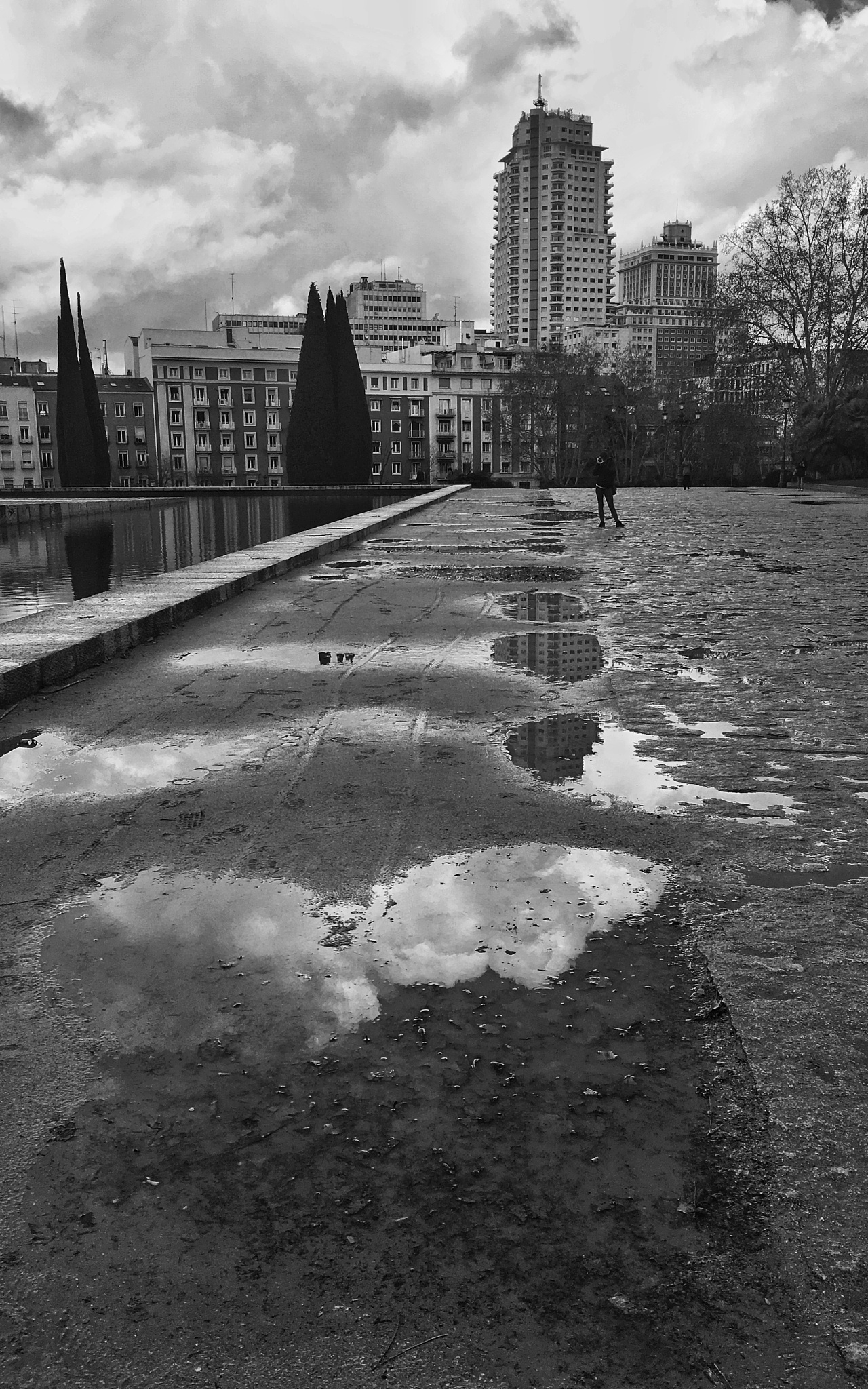 Puddles by Miguel Ballabriga