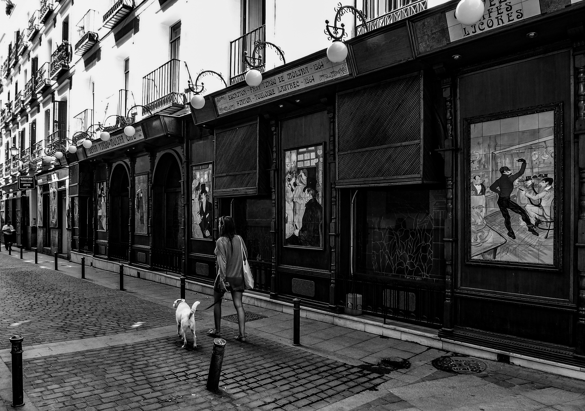 Street at Madrid by Miguel Ballabriga